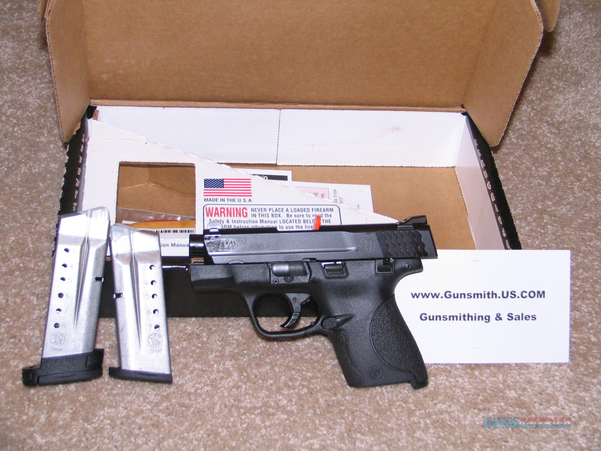 "Smith & Wesson M&P Shield 9mm 3.1"" barrel 8+1 with Safty  Guns > Pistols > Smith & Wesson Pistols - Autos > Shield"