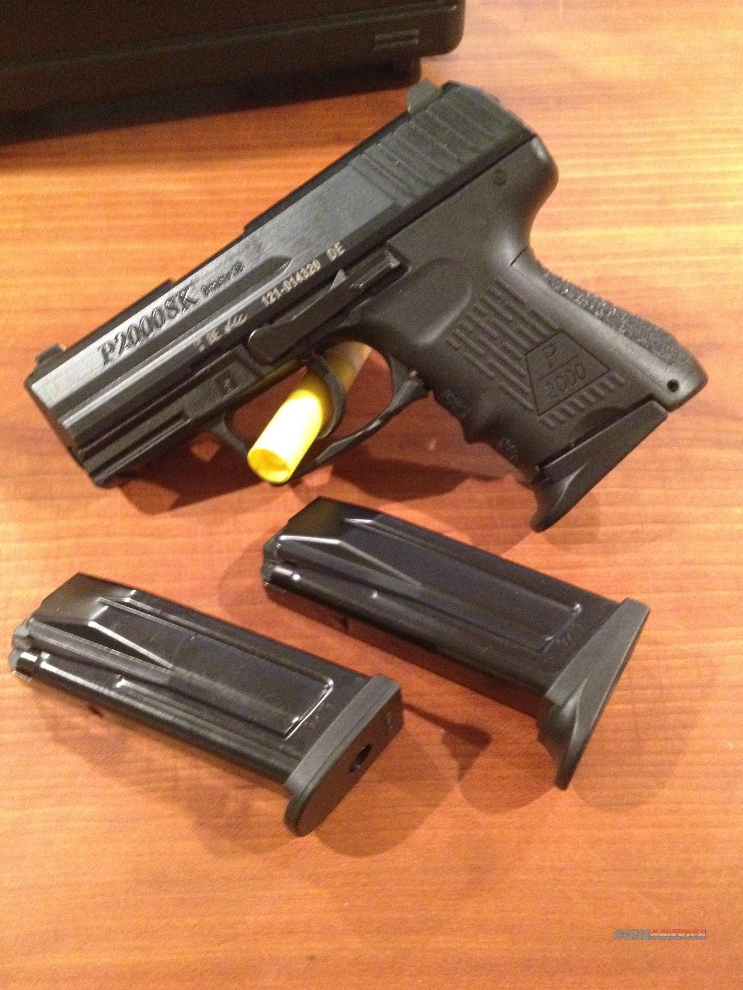 HK P2000SK V2 LEM 9mm DAO 10rd Night Sites  Guns > Pistols > Heckler & Koch Pistols > Polymer Frame