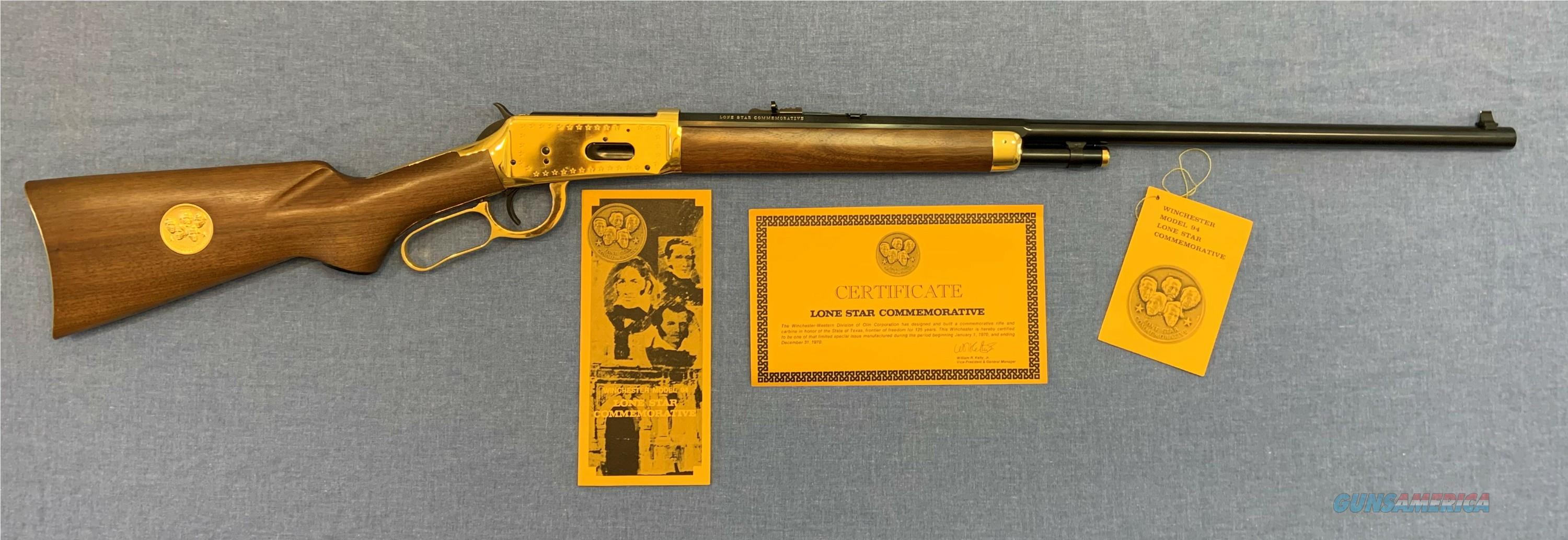 Winchester 94  Lone Star Commemorative 30-30 NIB   Guns > Rifles > Winchester Rifle Commemoratives