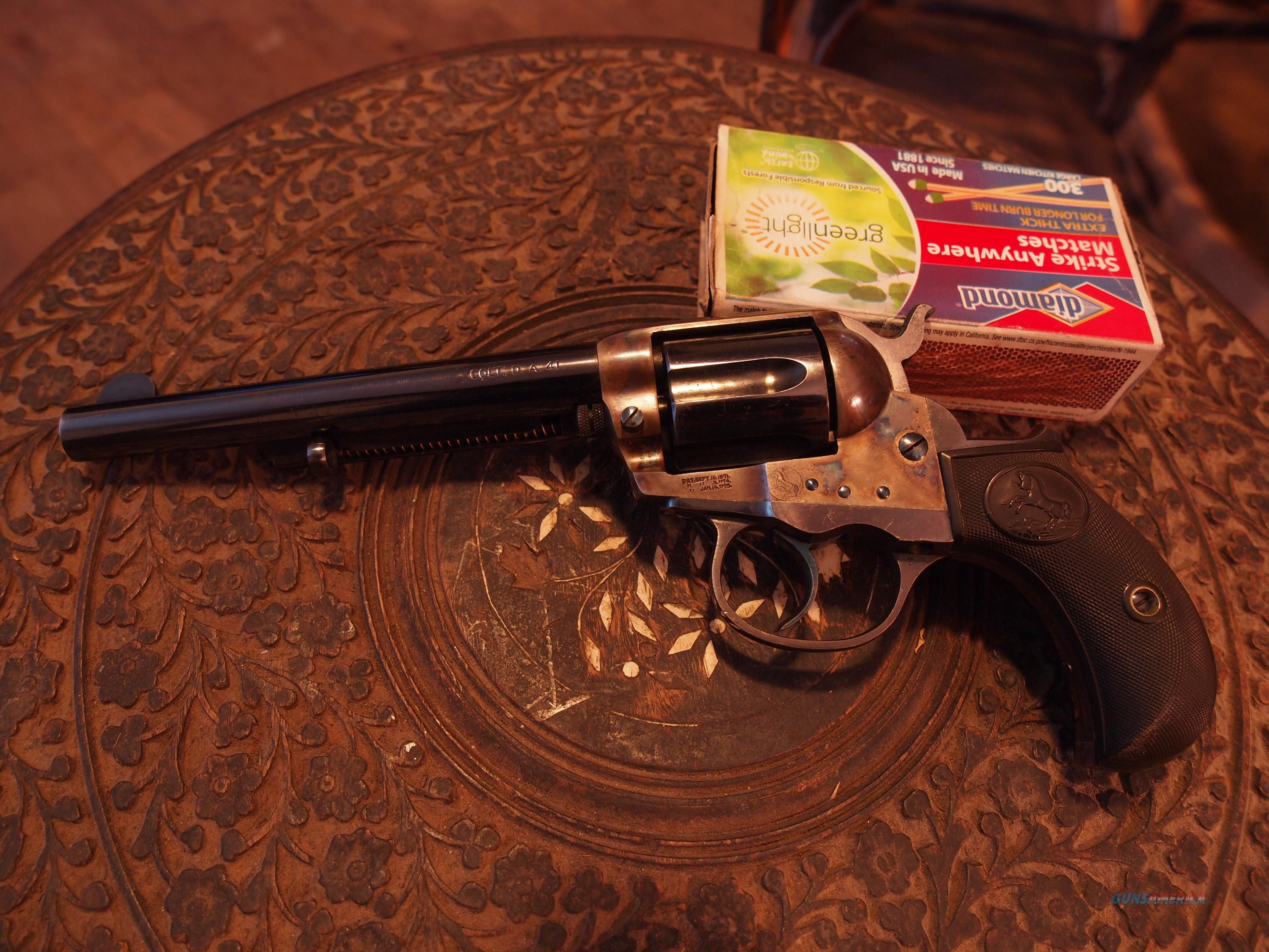 COLT 1877  Guns > Pistols > Colt Double Action Revolvers- Pre-1945