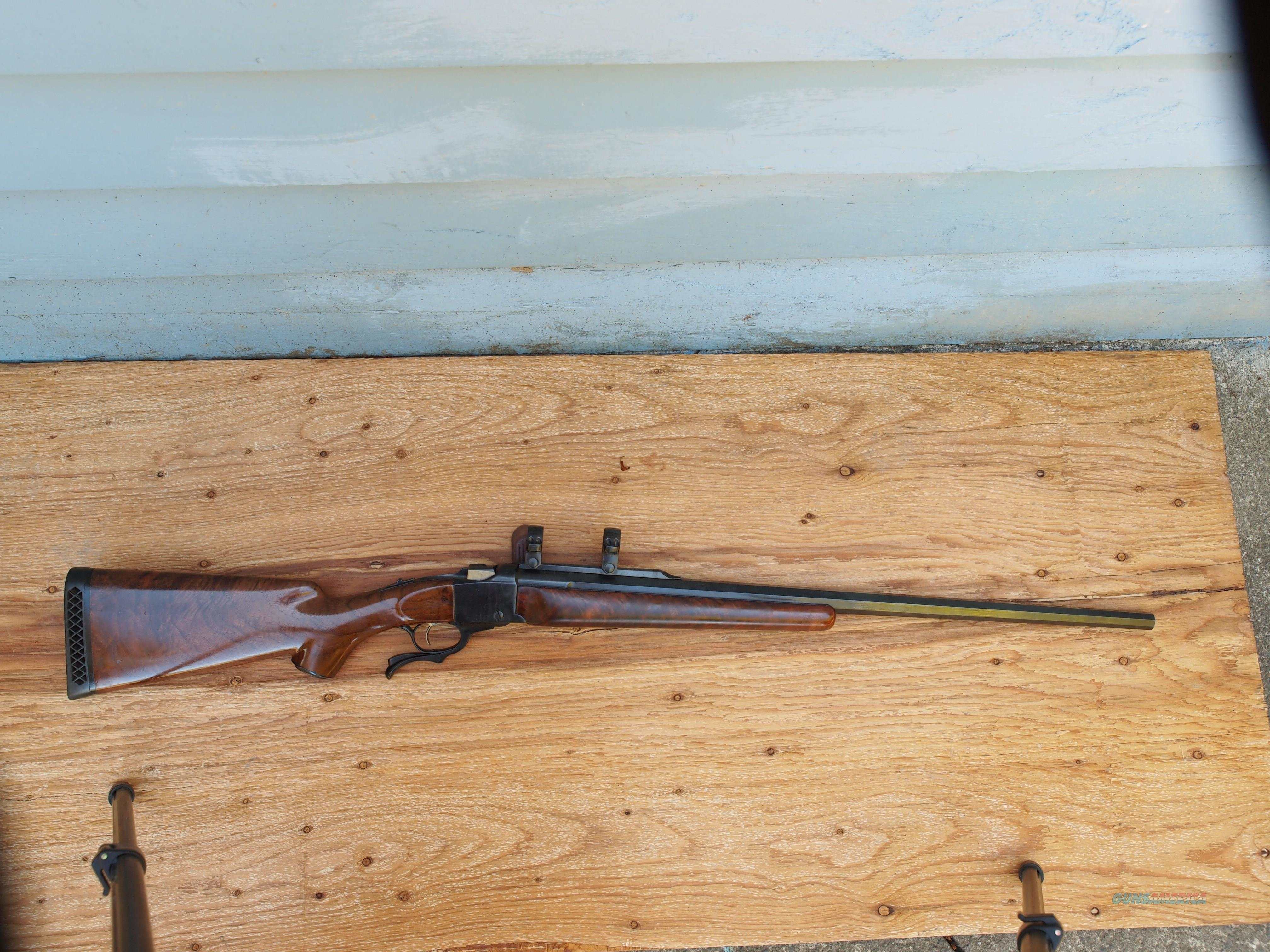 RUGER #1B 405 WINCHESTER  Guns > Rifles > Ruger Rifles > #1 Type