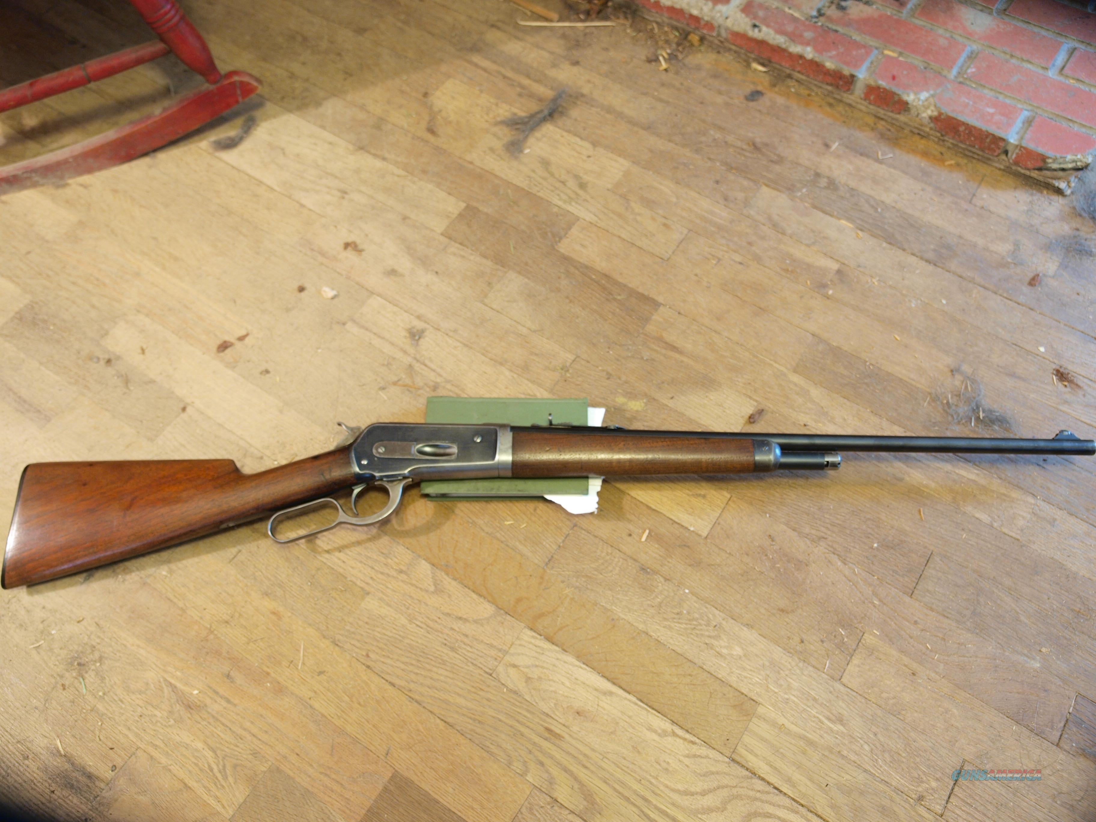 WINCHESTER 1886 TD  Guns > Rifles > Winchester Rifles - Modern Lever > Other Lever > Pre-64