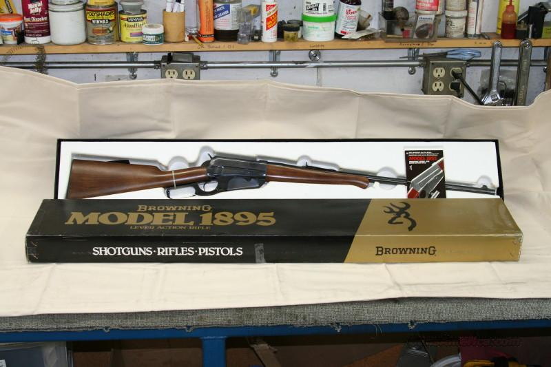 Browning 1895   Guns > Rifles > Browning Rifles > Lever Action
