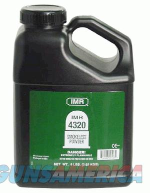 IMR 4320 Smokeless Powder - 8 LBS  Non-Guns > Reloading > Components > Other