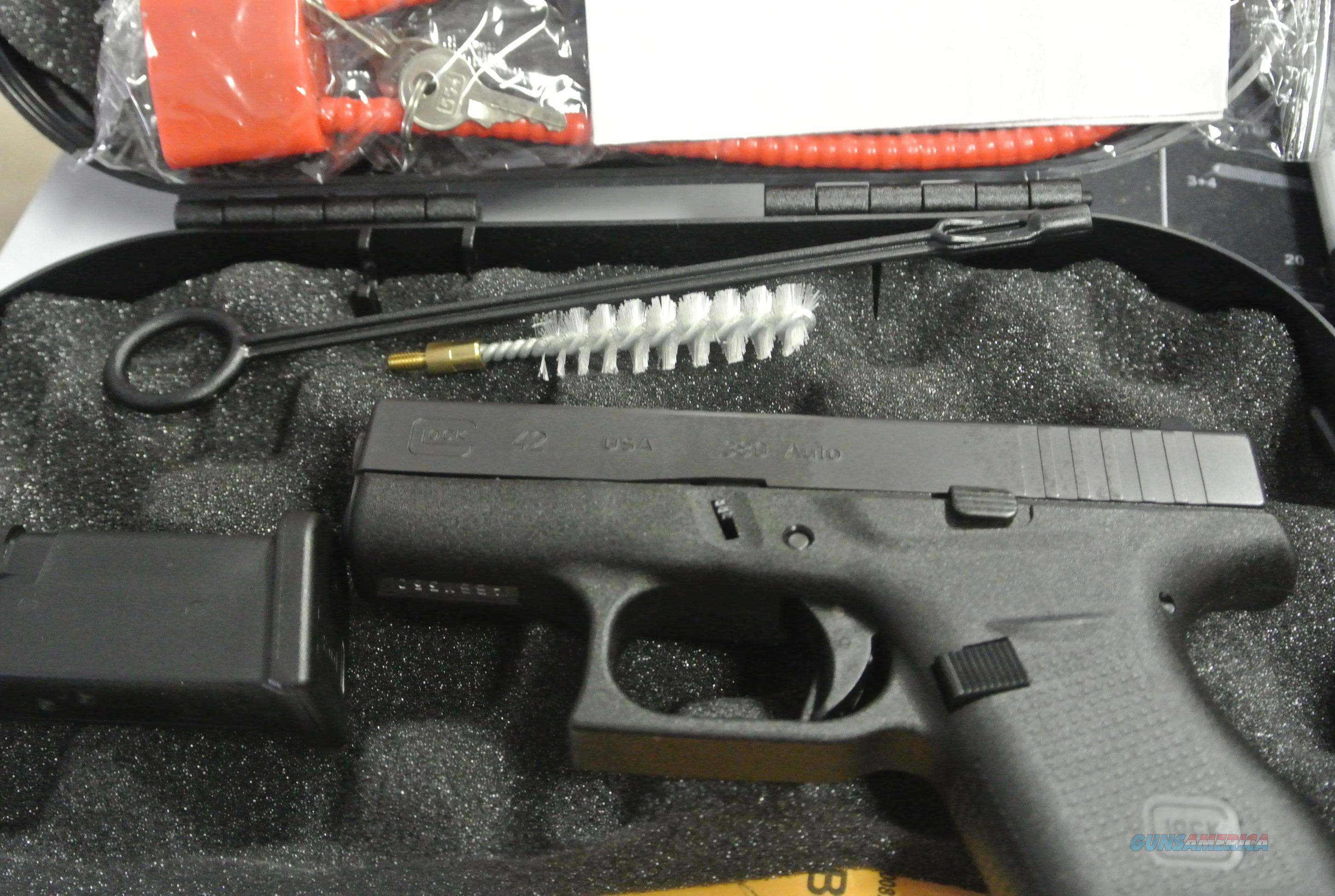Glock 42 in 380 ACP, with Two Magazines  Guns > Pistols > Glock Pistols > 42