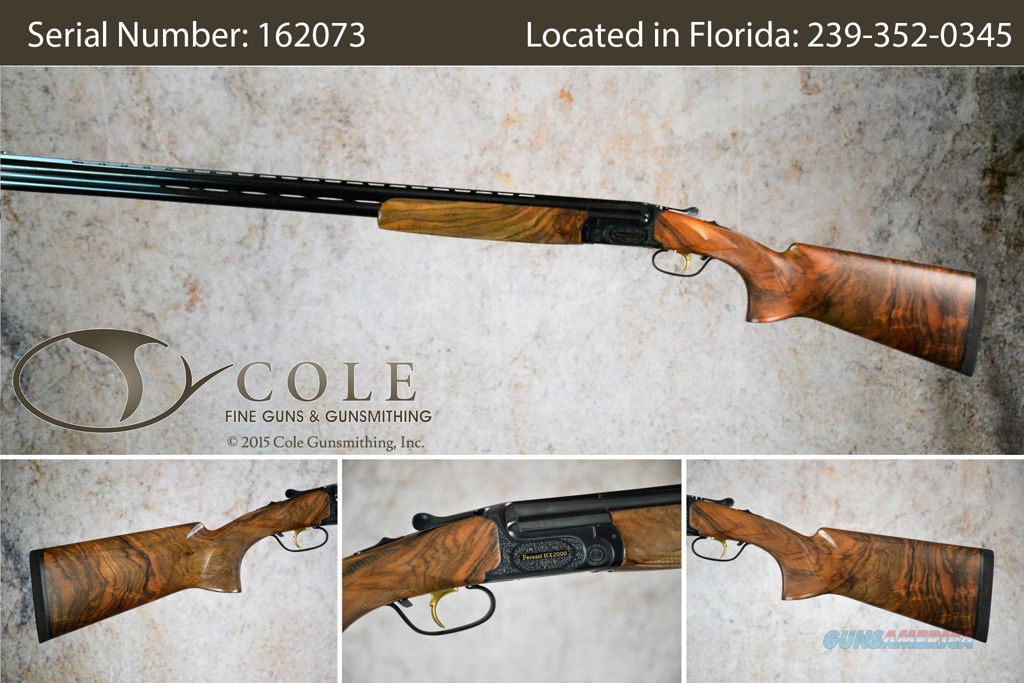 """Perazzi MX2000/8 Sporting 20g 32"""" SN:162073  Guns > Shotguns > Perazzi Shotguns"""