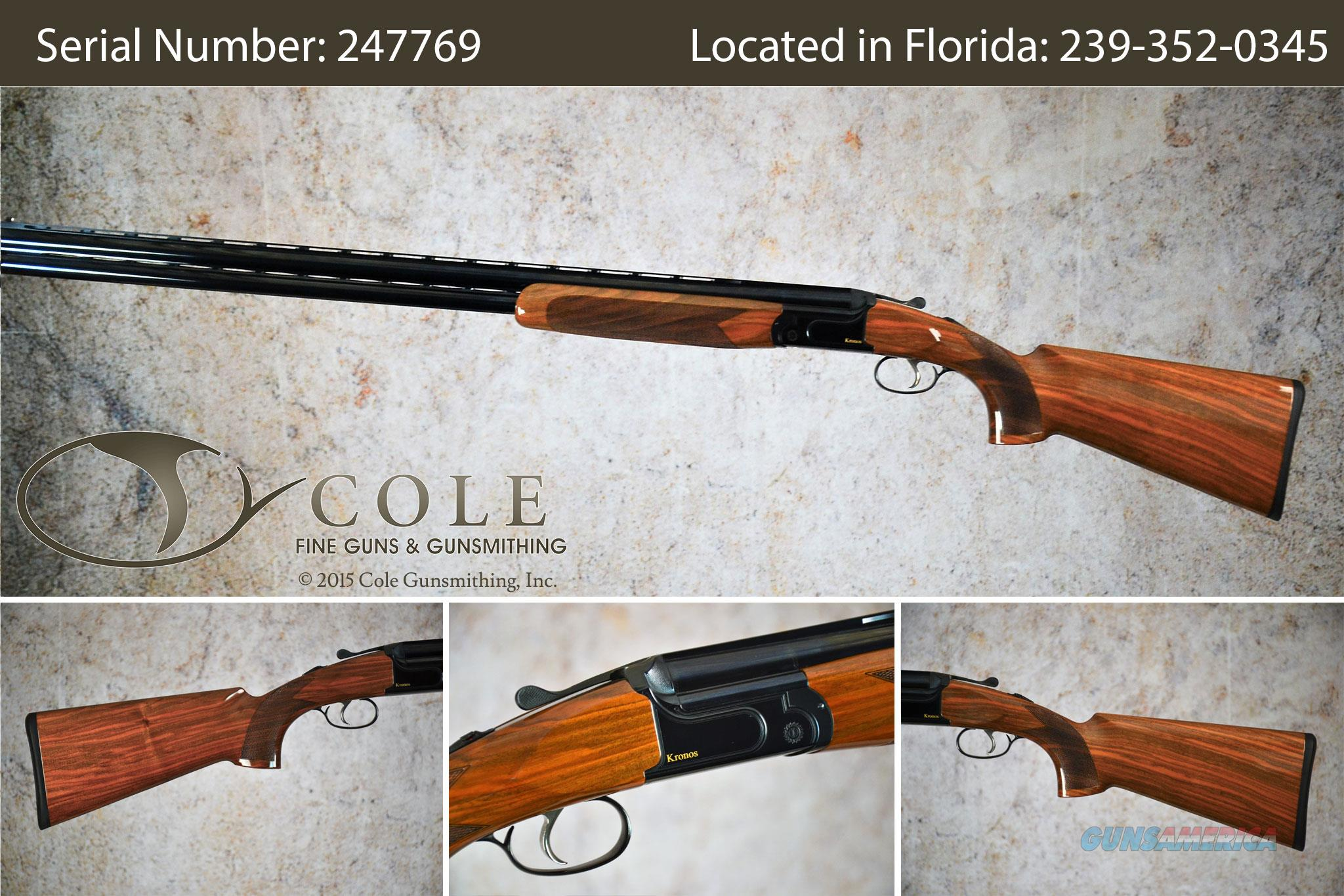"Zoli Kronos 12ga 32"" Sporting SN:247769~~Unfired Demo~~  Guns > Shotguns > Antonio Zoli Shotguns"
