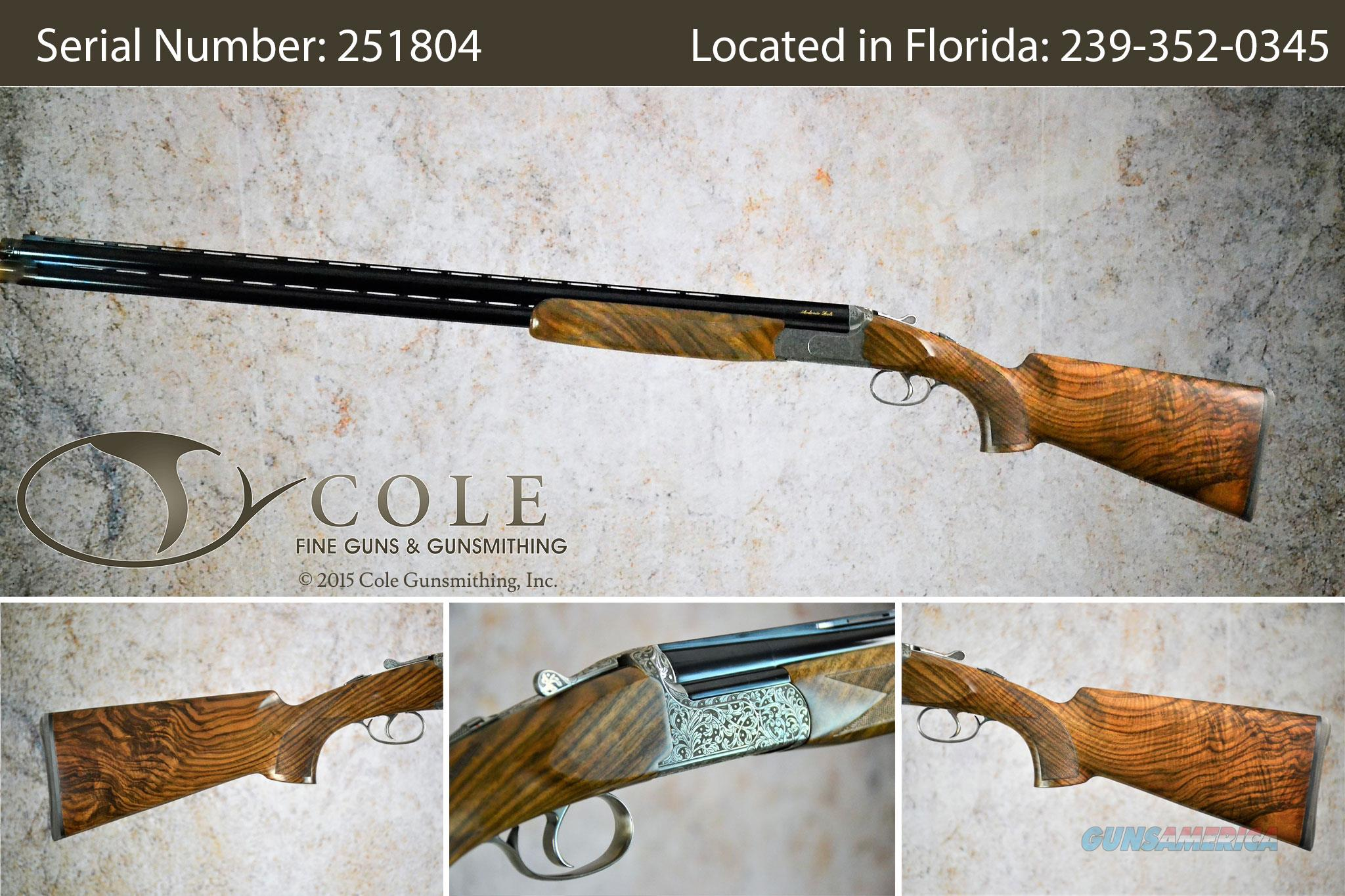 "Zoli Cole Custom Z-Sport Sporting 12g 32"" SN:#251804~~At Our San Antonio Store~~  Guns > Shotguns > XYZ Misc Shotguns"