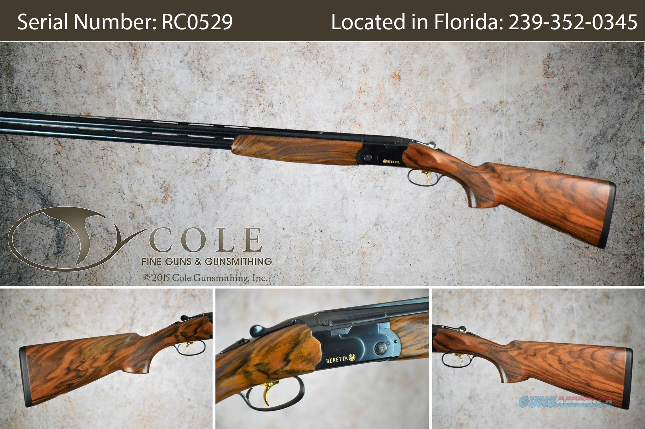 "Beretta 686 Cole Special 12ga 32"" Sporting Shotgun SN:RC0529  Guns > Shotguns > Beretta Shotguns > O/U > Trap/Skeet"