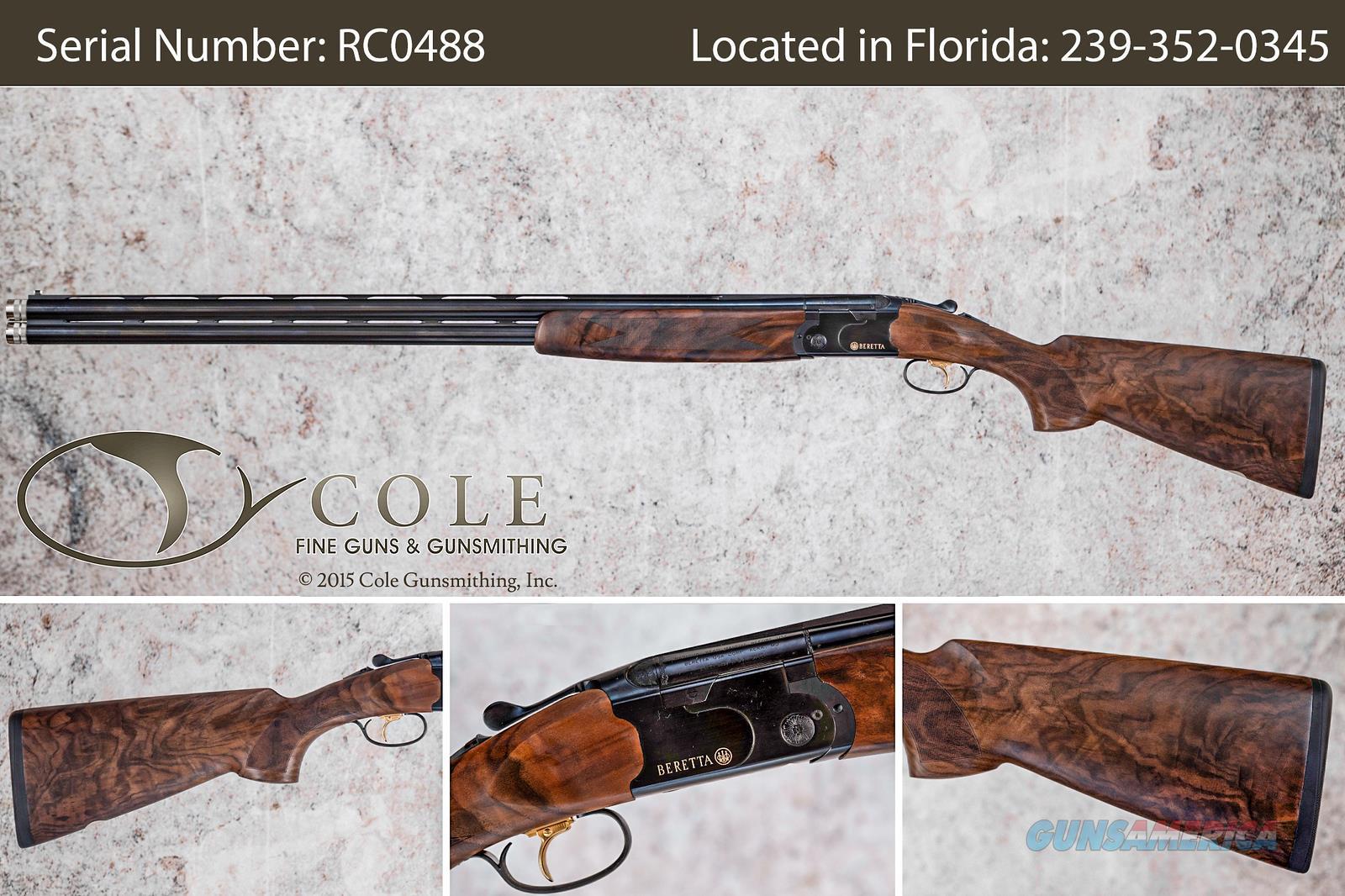 "Beretta 686 Cole Special 12ga 32"" Sporting Shotgun SN:#RC0488  Guns > Shotguns > Beretta Shotguns > O/U > Trap/Skeet"