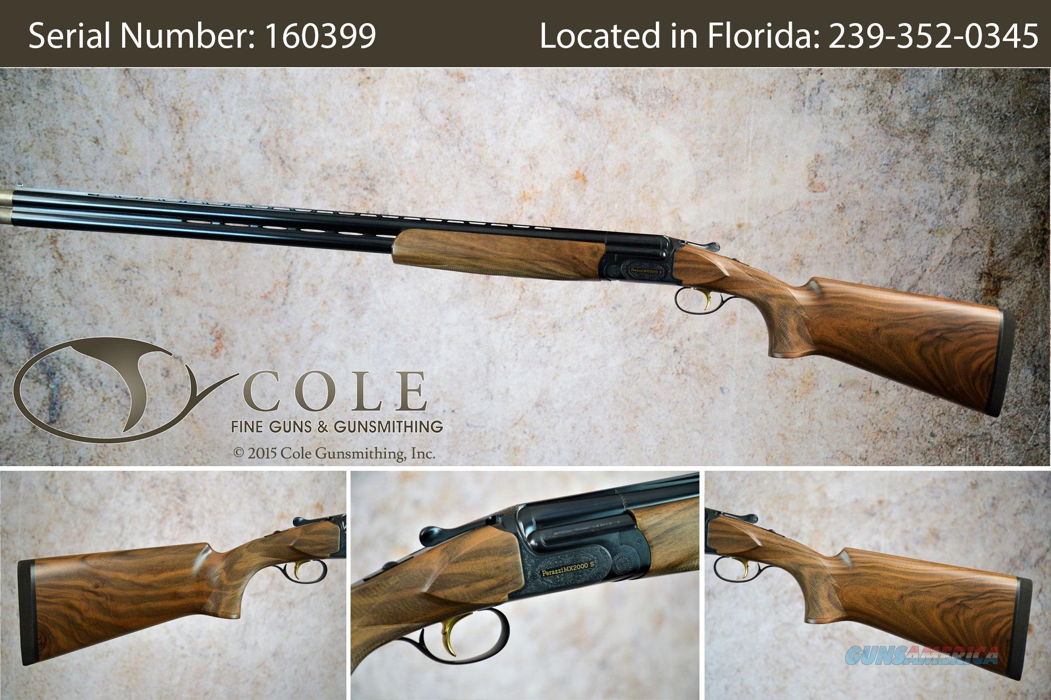 """Perazzi MX2000S Sporting 12g 32"""" SN:#160399   Guns > Shotguns > Perazzi Shotguns"""