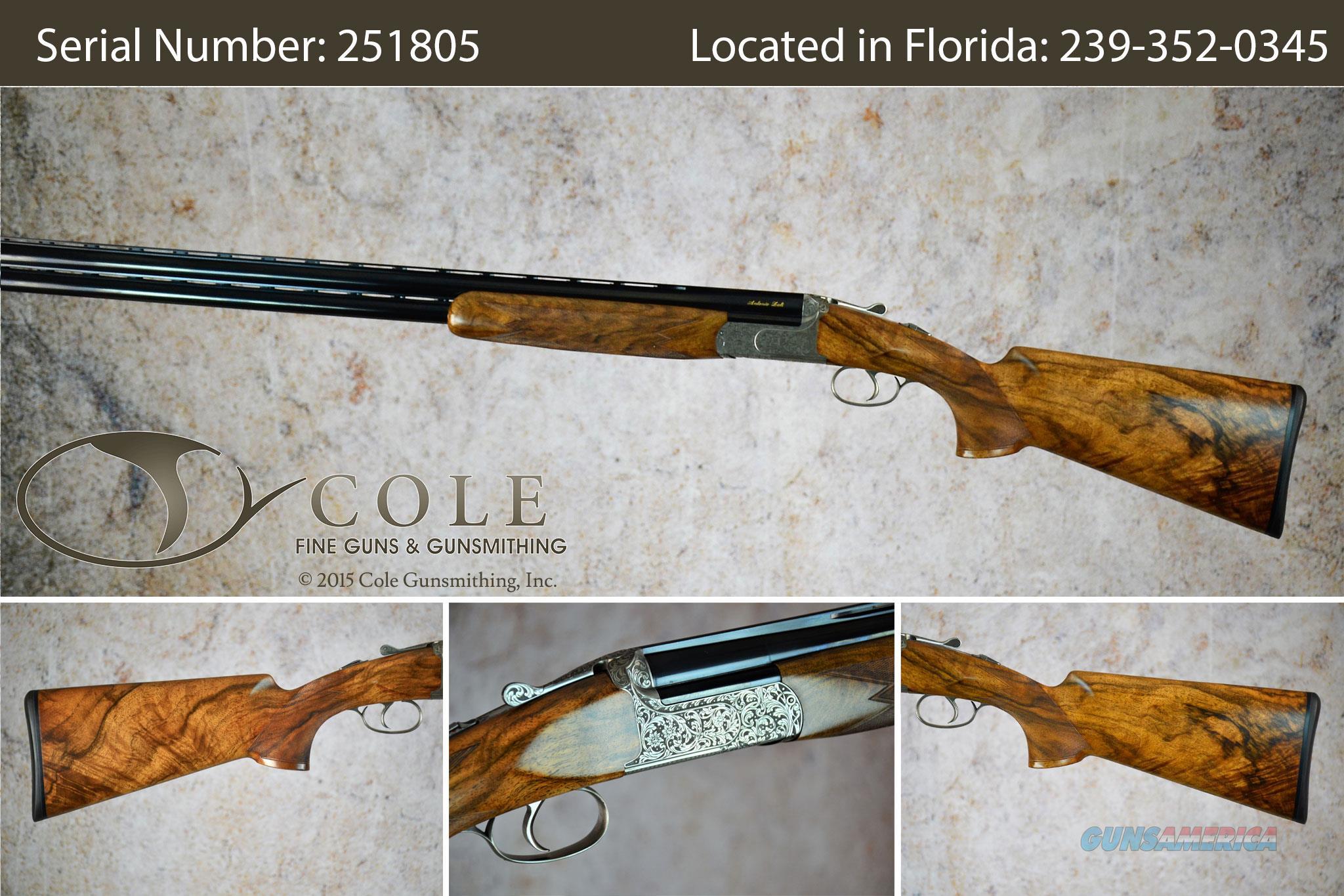 "Zoli Z-Sport Cole Custom Sporting 12g 32"" SN:#251805  Guns > Shotguns > XYZ Misc Shotguns"