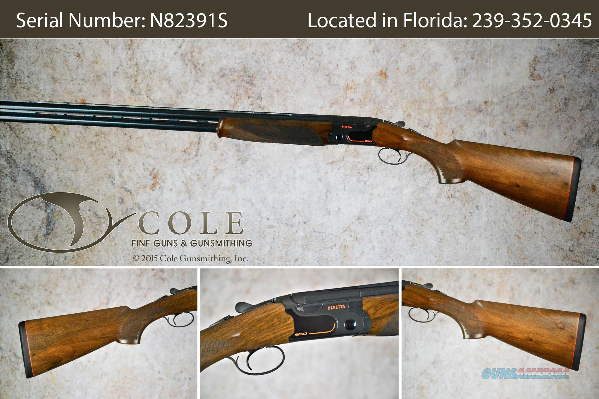"Beretta 690 Sporting 12g 32"" SN:#N82391S  Guns > Shotguns > Beretta Shotguns > O/U > Trap/Skeet"