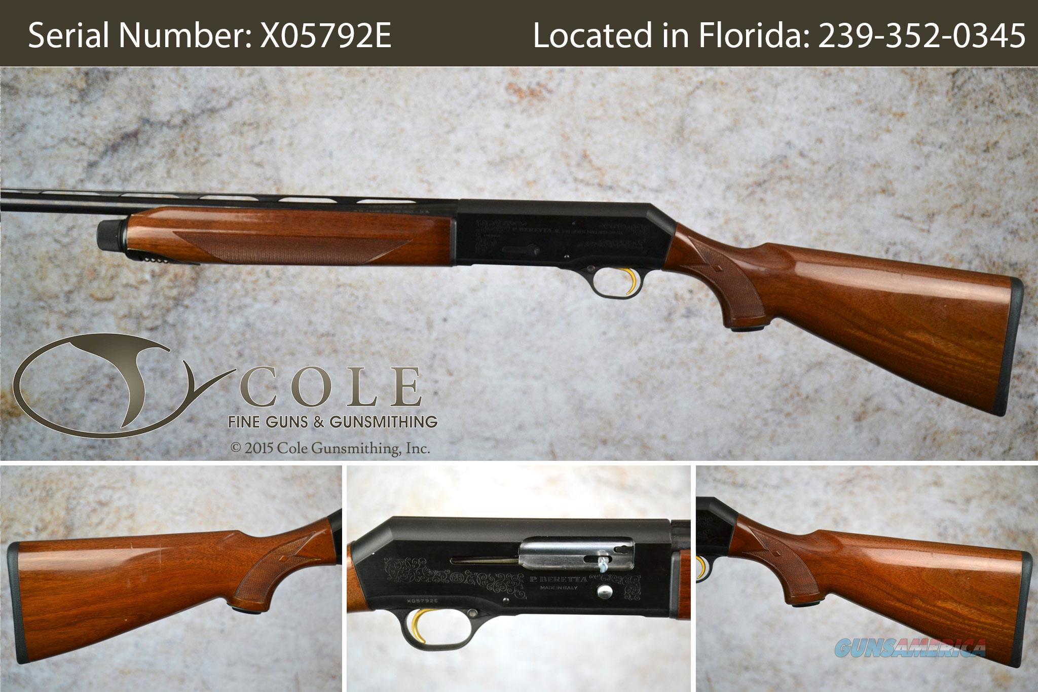 "Beretta 390 Youth Silver Mallard 20ga 24"" Field Pre-owned SN:X05792E  Guns > Shotguns > Beretta Shotguns > Autoloaders > Hunting"