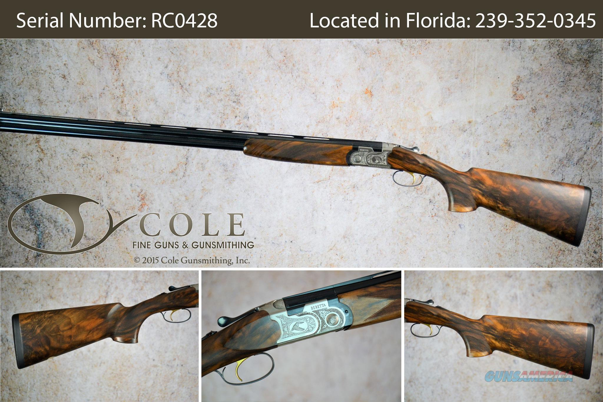 "Beretta Cole Special Silver Pigeon 20/28g 32"" Combo SN:#RC0428  Guns > Shotguns > Beretta Shotguns > O/U > Trap/Skeet"