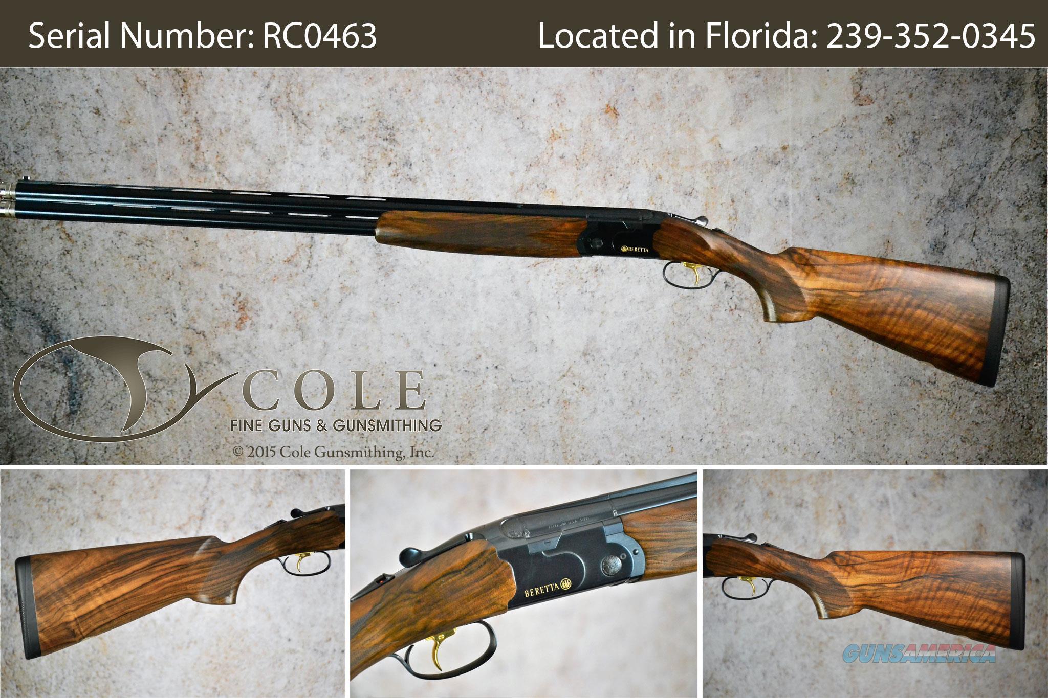 "Beretta 686 Cole Special Sporting 12g 30"" SN:#RC0463  Guns > Shotguns > Beretta Shotguns > O/U > Trap/Skeet"