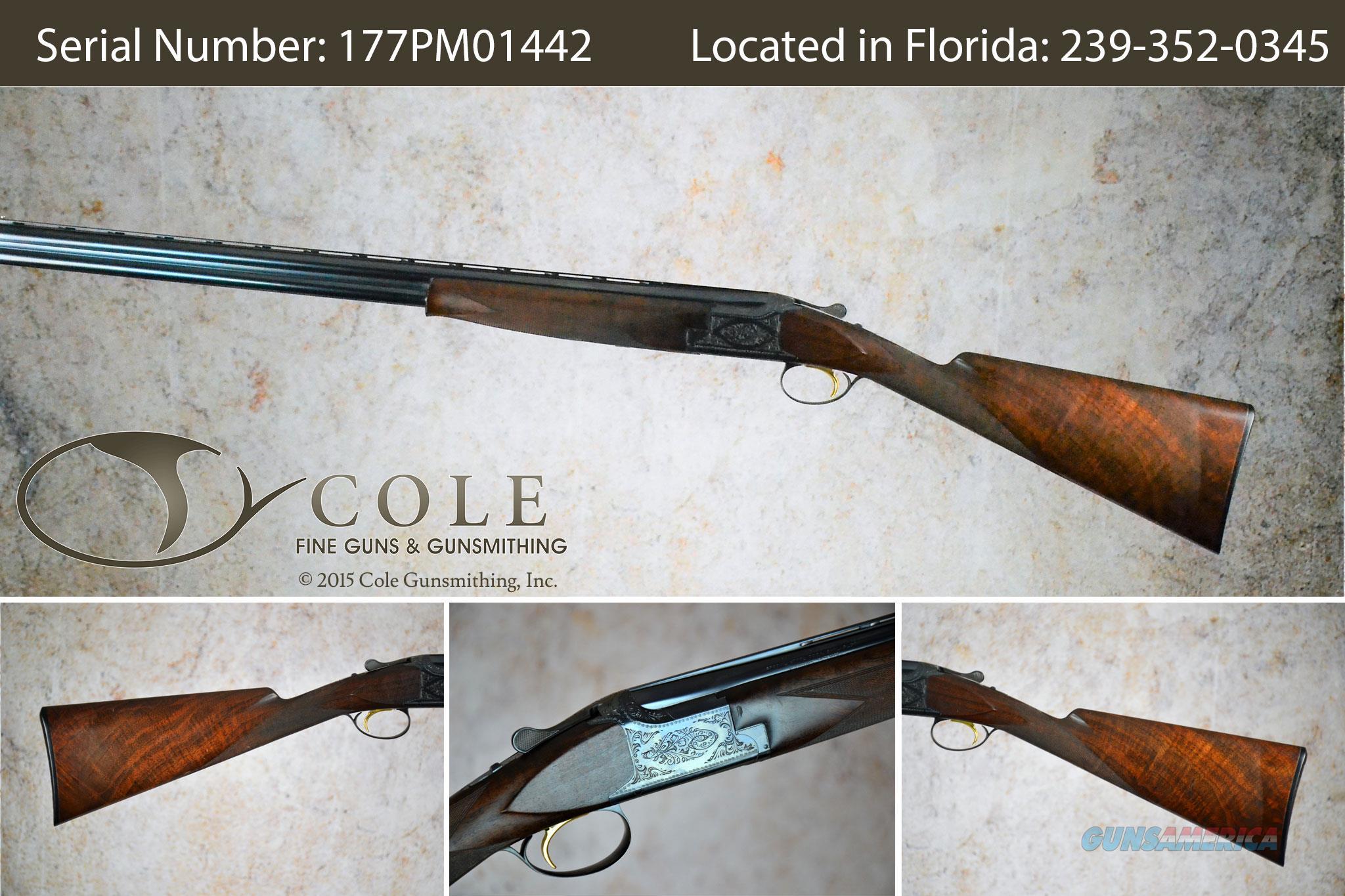 "Browning Centennial Field 20g 30/06 26 1/2"" & 24"" SN:177PM01442~~Pre-Owned~~  Guns > Shotguns > Browning Shotguns > Over Unders > Belgian Manufacture"
