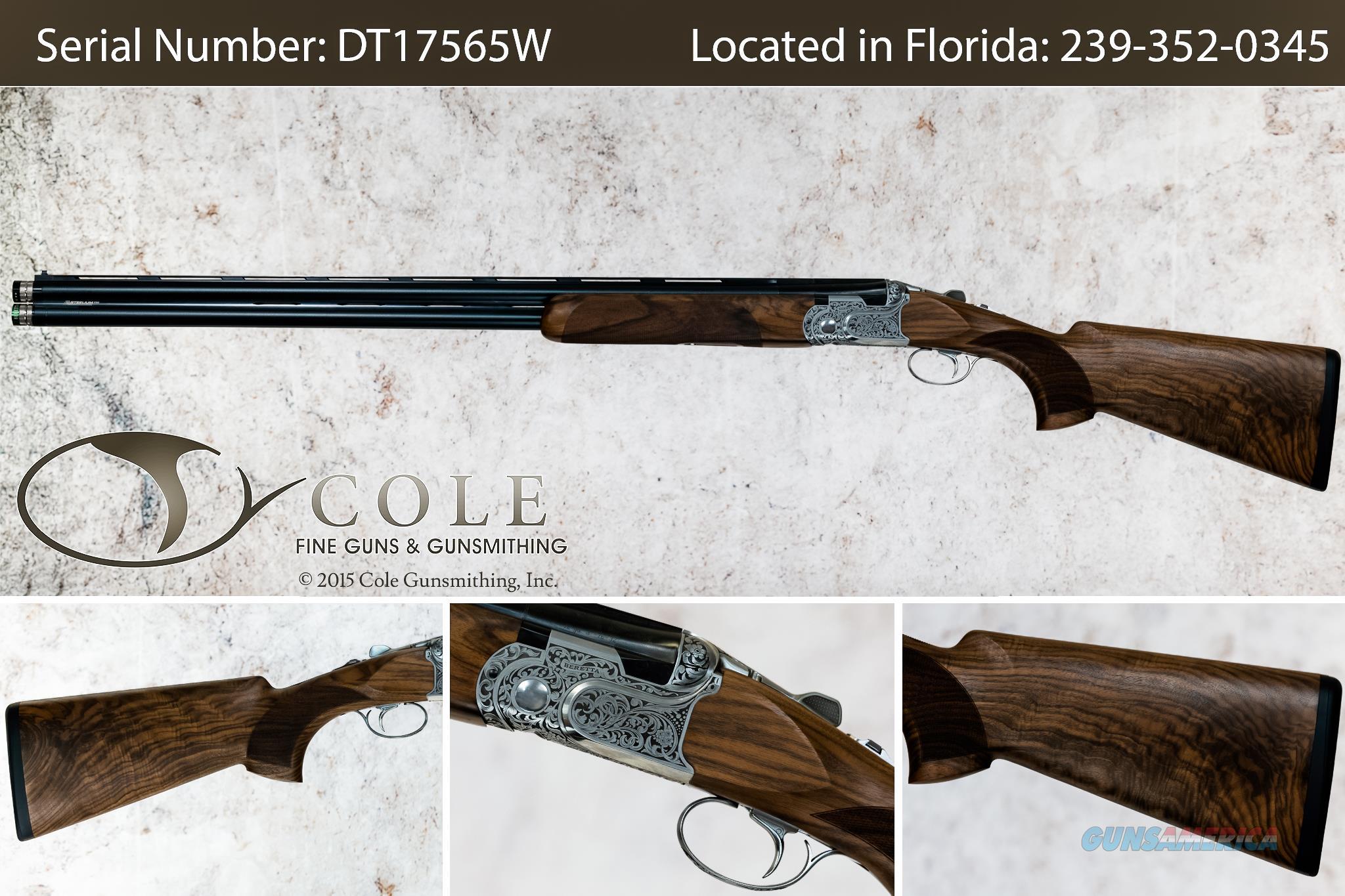 "Beretta DT11 LUSSO Sporting 12g 32"" SN# DT17565W  Guns > Shotguns > Beretta Shotguns > O/U > Trap/Skeet"