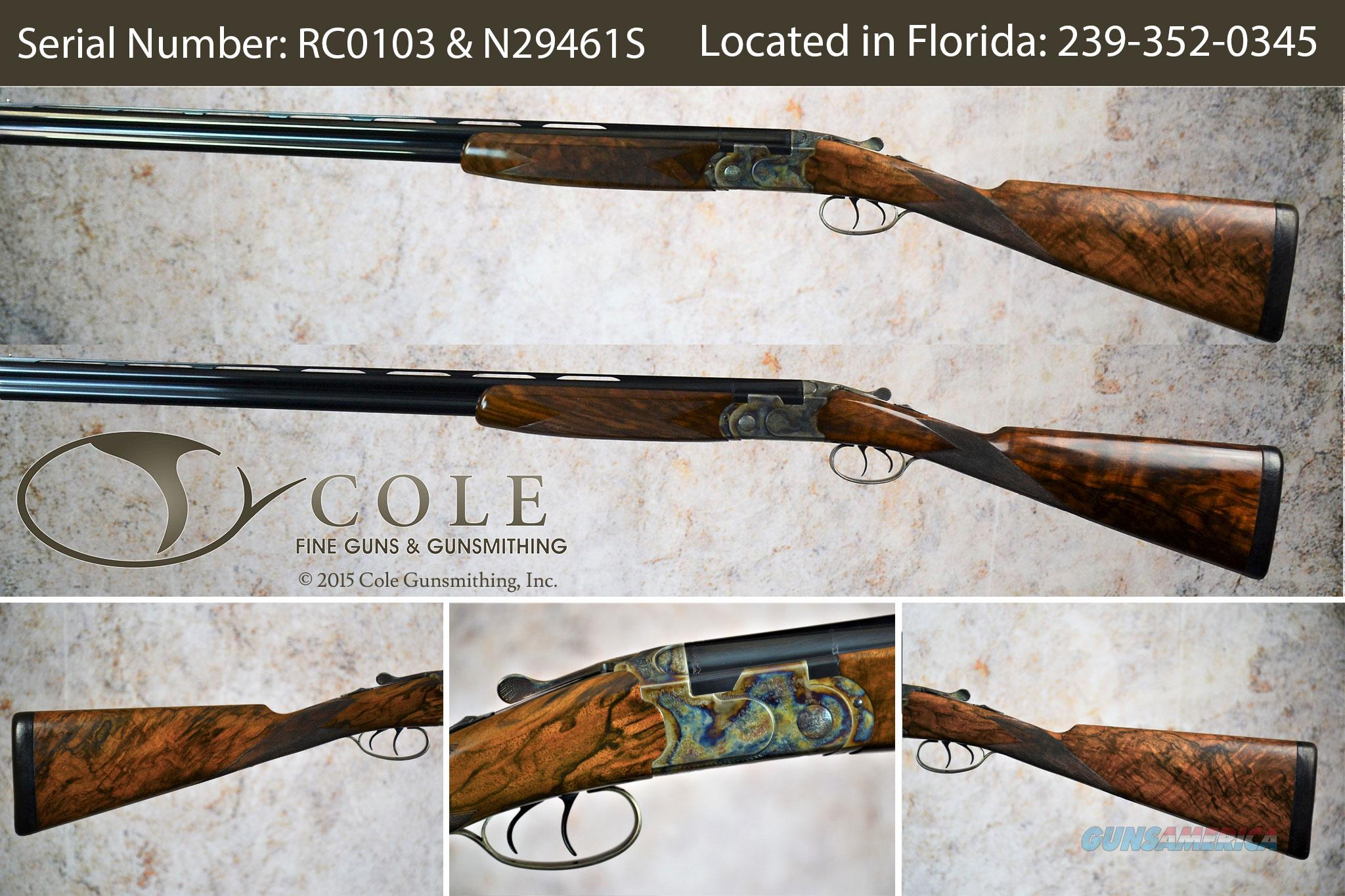 "Cole Custom Combo Pair Field 20/28g 28"" SN:#RC0103 & N29461S ~~Pre-Owned~~  Guns > Shotguns > Beretta Shotguns > O/U > Hunting"