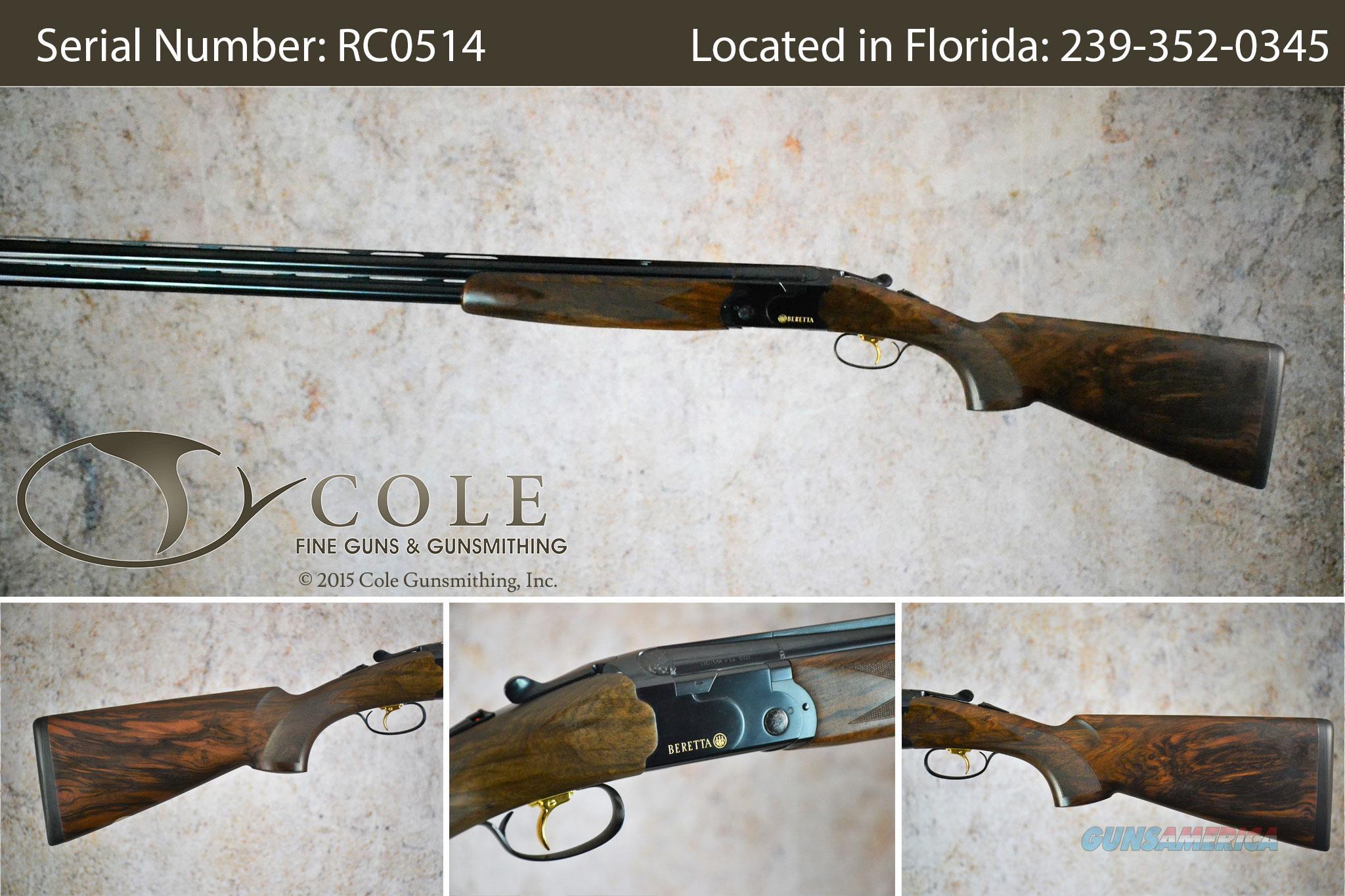 "Beretta 686 Cole Special Sporting 12g 30"" SN:#RC0514  Guns > Shotguns > Beretta Shotguns > O/U > Trap/Skeet"