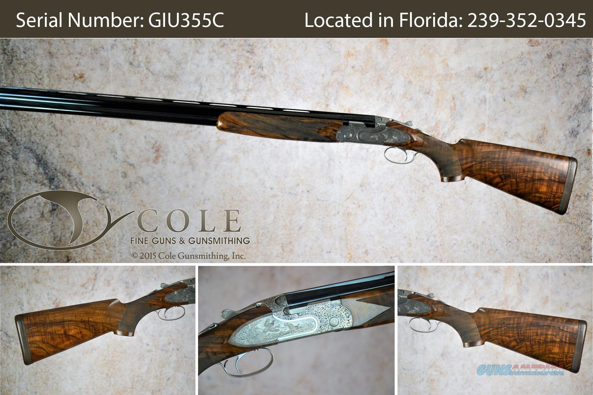 "Beretta Jubilee Sporting 12g 30"" SN#:GIU355C~~Pre-Owned~~  Guns > Shotguns > Beretta Shotguns > O/U > Trap/Skeet"