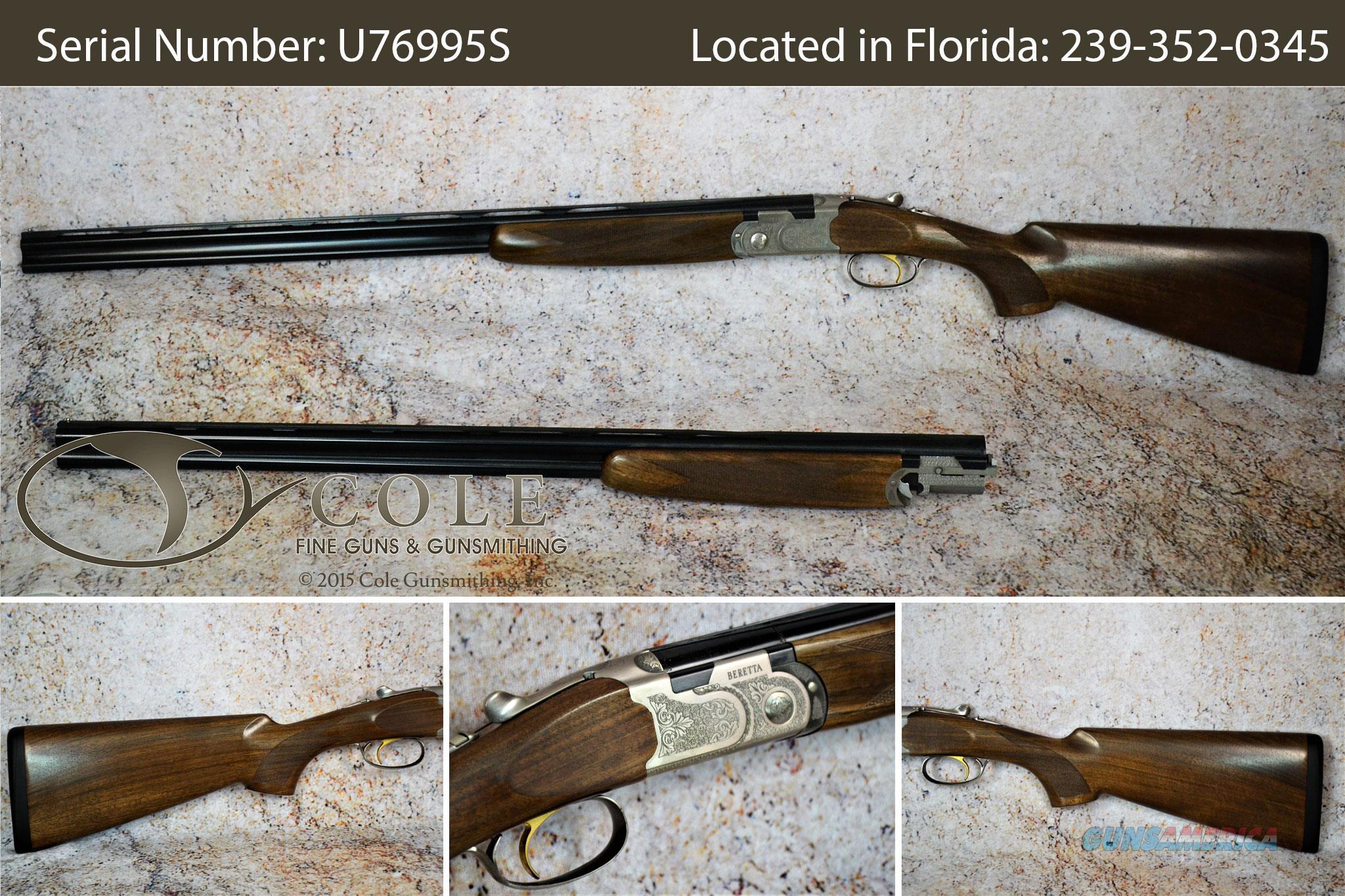 """Beretta Silver Pigeon I Field 28/.410 28"""" SN:#U76995S  Guns > Shotguns > Beretta Shotguns > O/U > Hunting"""