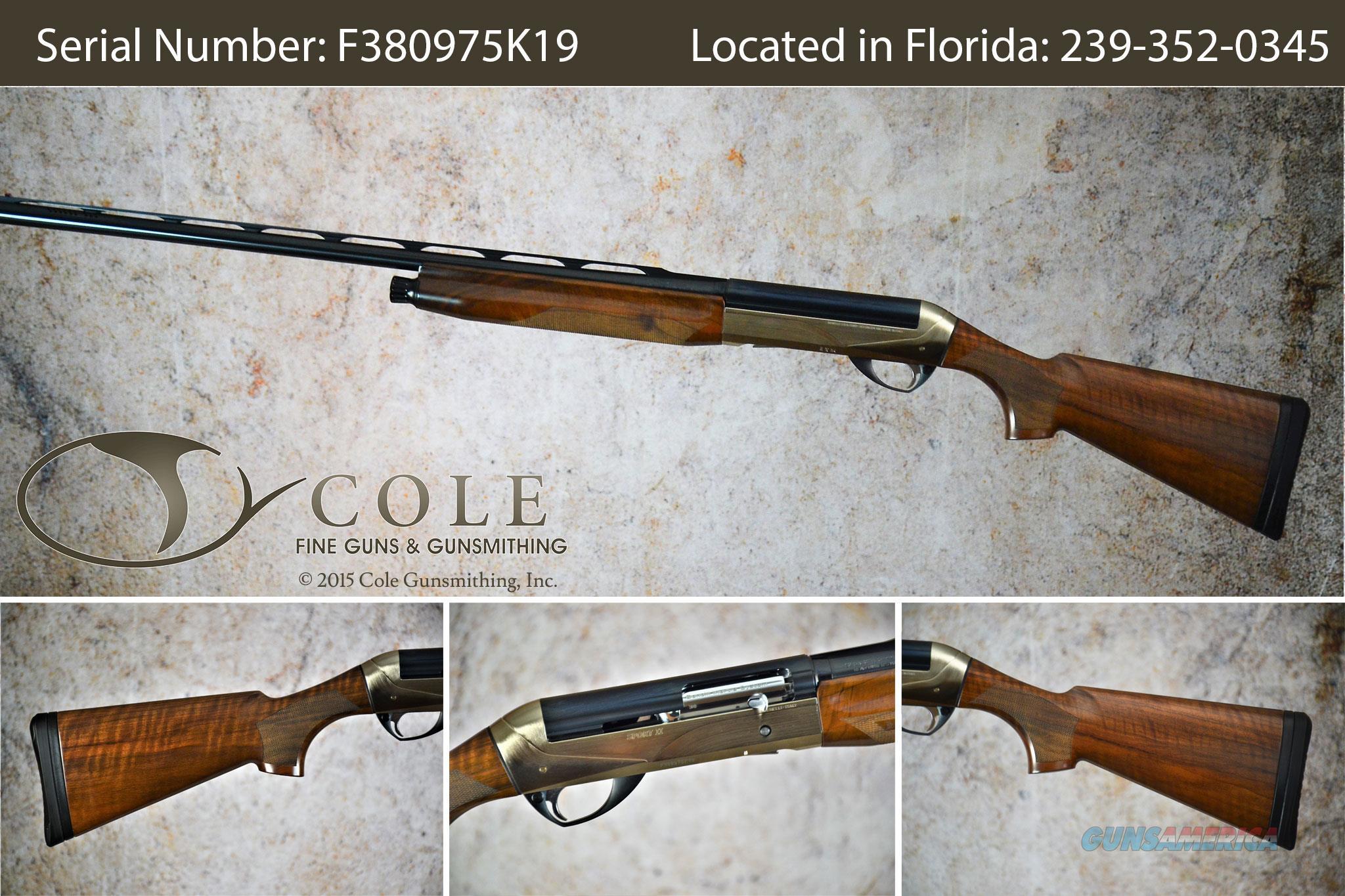"""Benelli Sport II 12g 30"""" SN:#F380975K19  Guns > Shotguns > Benelli Shotguns > Sporting"""