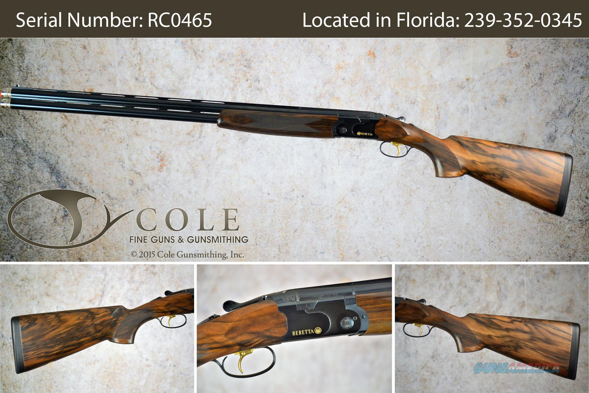 "Beretta 686 Cole Special Sporting 12g 30"" SN:#RC0465  Guns > Shotguns > Beretta Shotguns > O/U > Trap/Skeet"