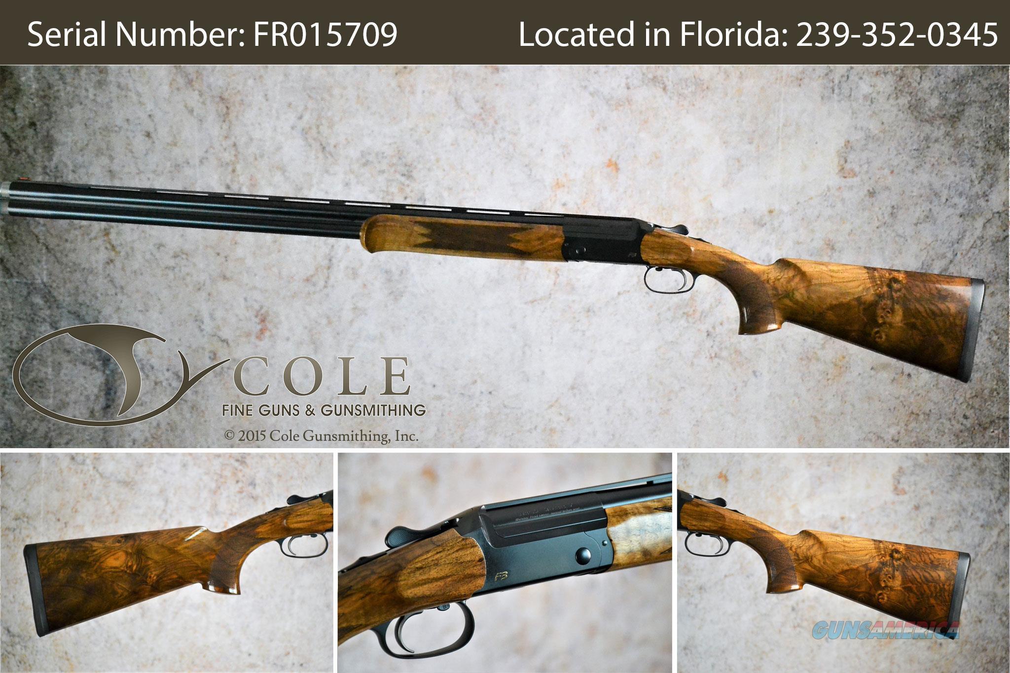 """Blaser F3 Sporting 12g 32"""" SN:FR015709  Guns > Shotguns > Blaser Shotguns"""