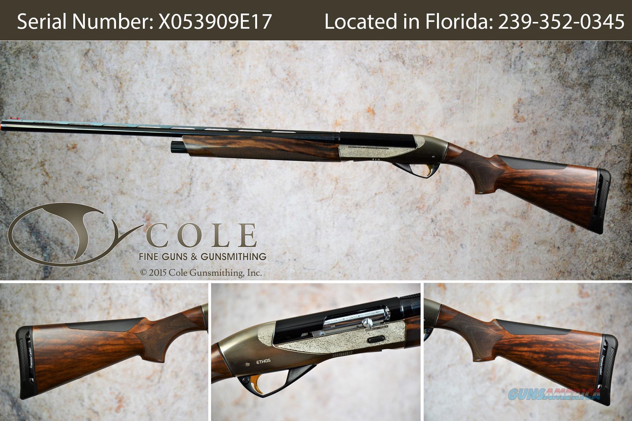 """Benelli Ethos Field 20g 28"""" SN:#X053909E17  Guns > Shotguns > Benelli Shotguns > Sporting"""