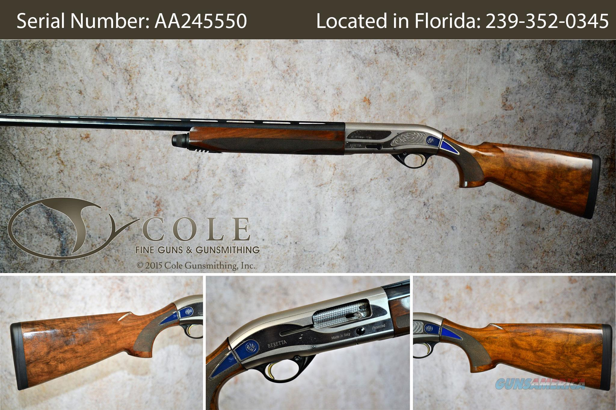 "Beretta 391 Teknys Sporting 12g 30"" SN:#AA245550 ~~~Pre-Owned~~  Guns > Shotguns > Beretta Shotguns > Single Barrel"