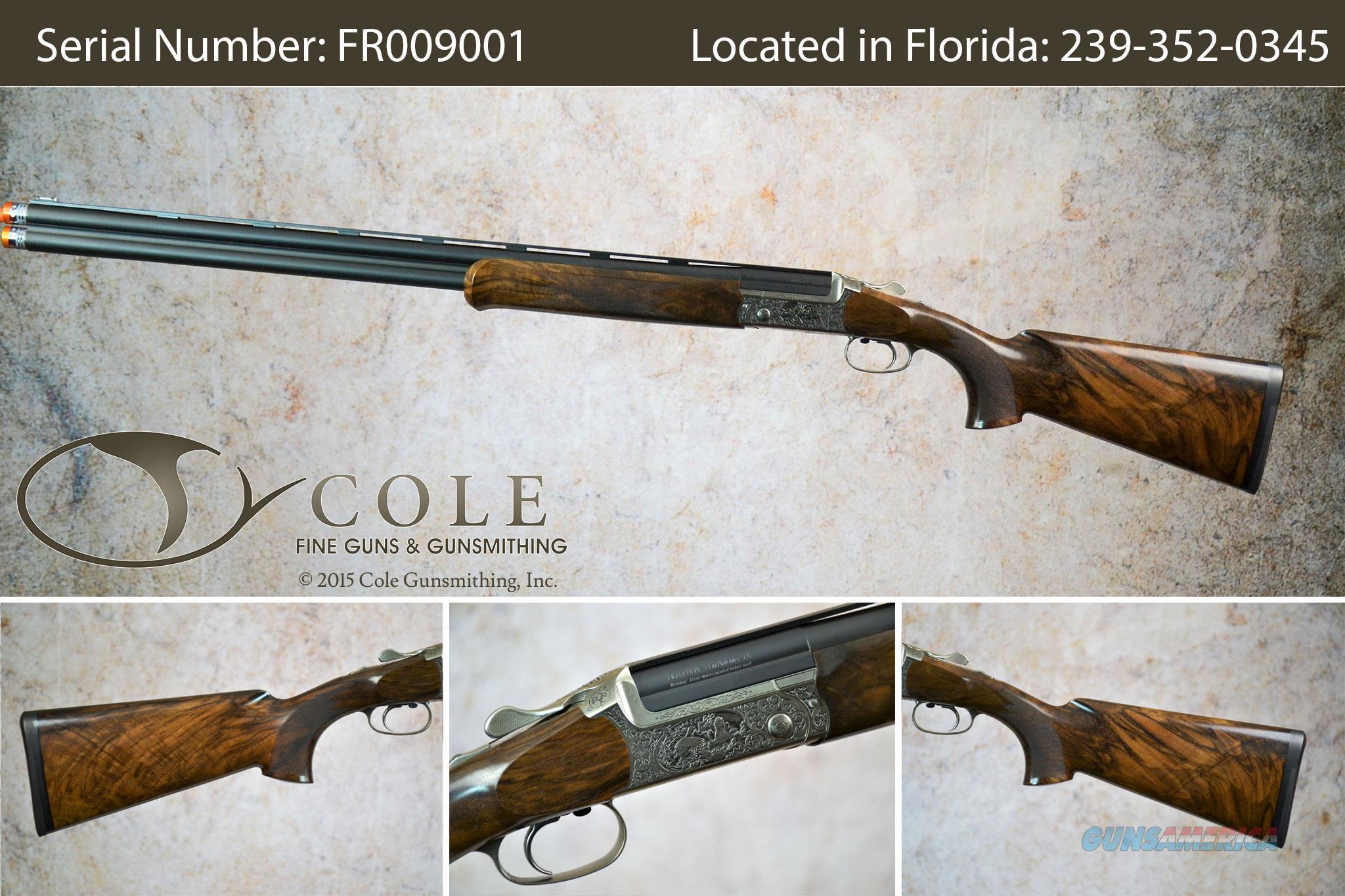 "Blaser F-3 Grand Luxe Sporting 12g 30"" SN:#FR009001~~Pre-Owned~~  Guns > Shotguns > Blaser Shotguns"
