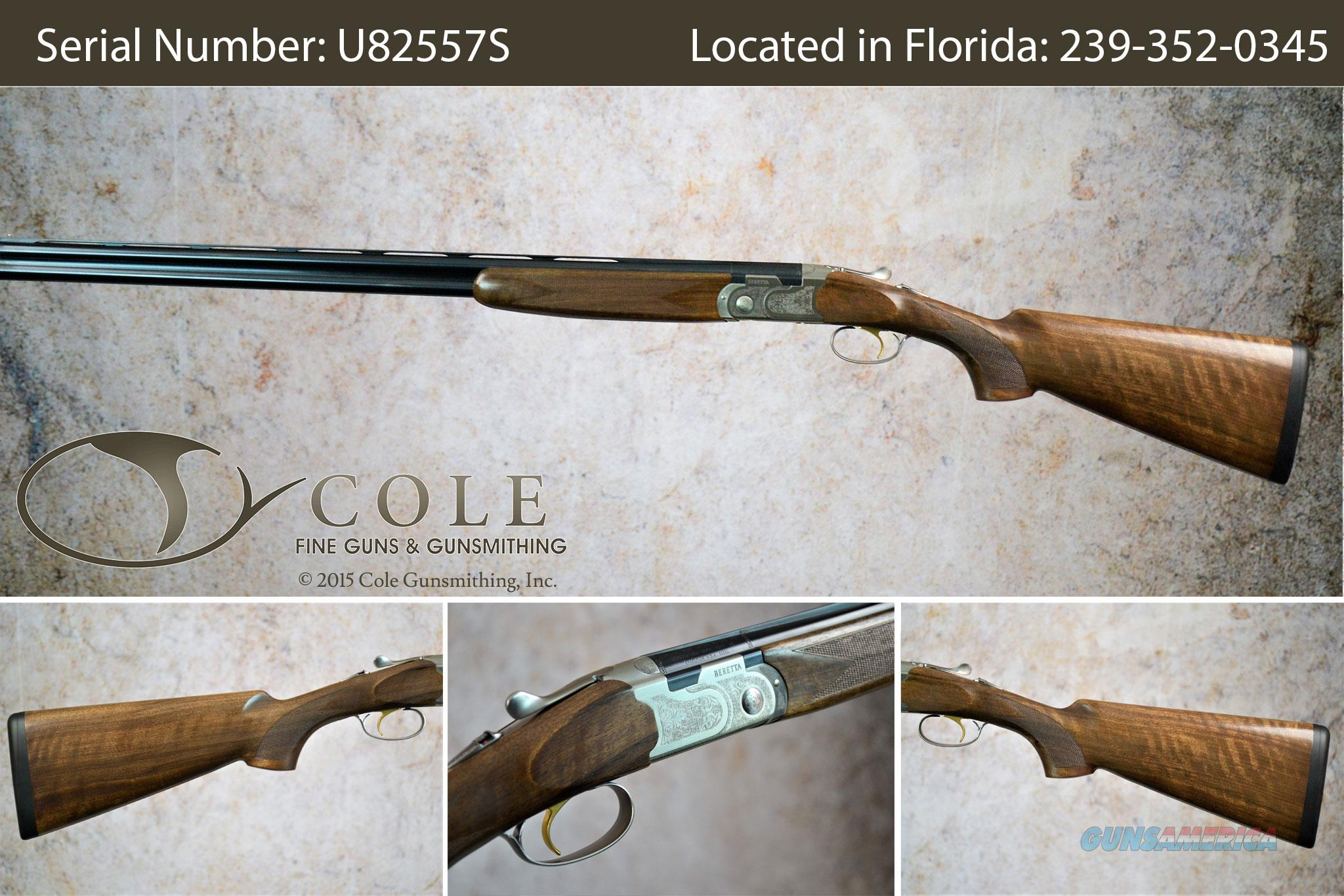 "Beretta Silver Pigeon I Field 28/410g 28"" Combo SN:#U82557S  Guns > Shotguns > Beretta Shotguns > O/U > Hunting"