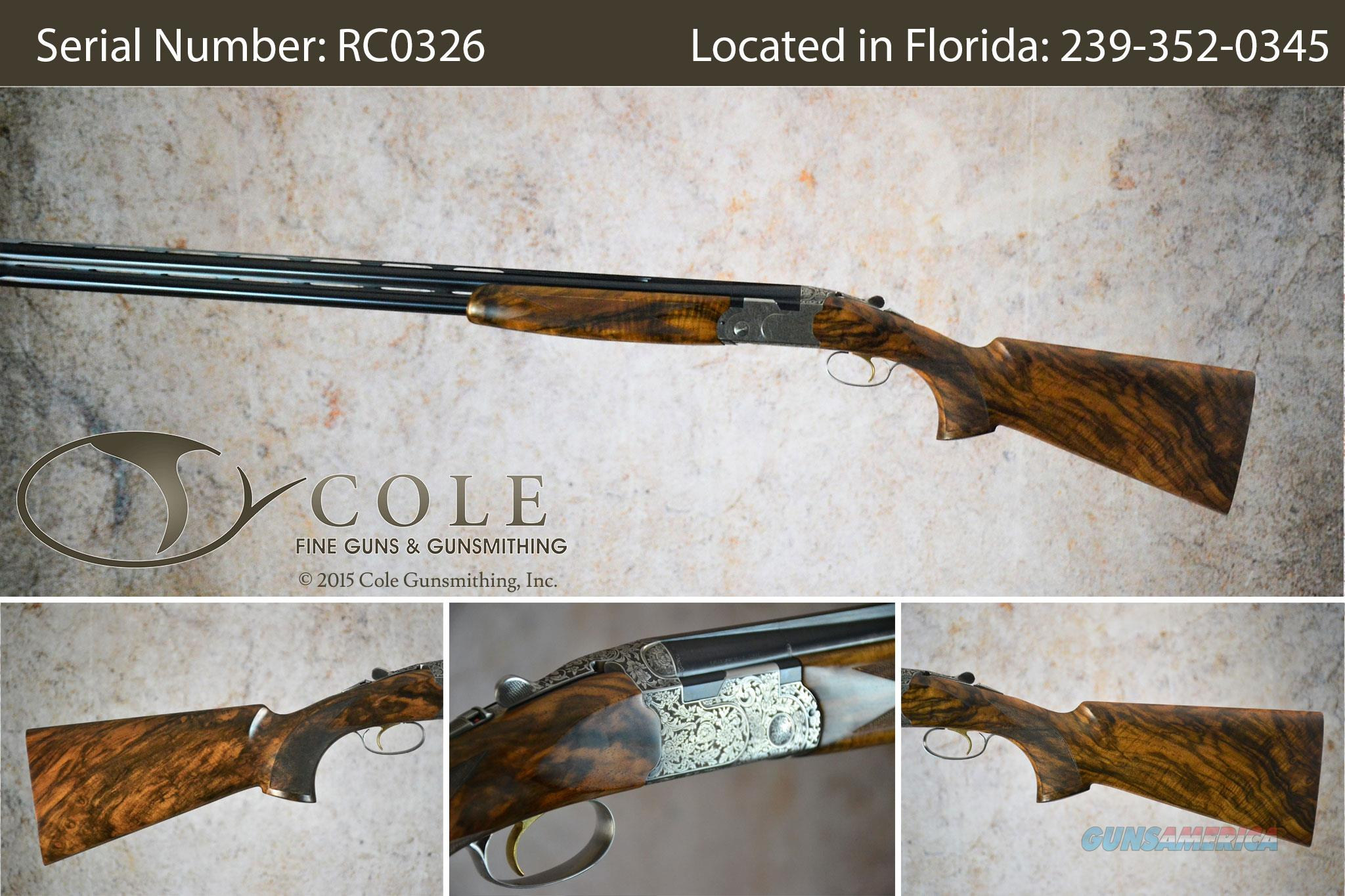 "Beretta 687 Cole Custom Sporting 12g 32"" SN:#RC0326  Guns > Shotguns > Beretta Shotguns > O/U > Trap/Skeet"