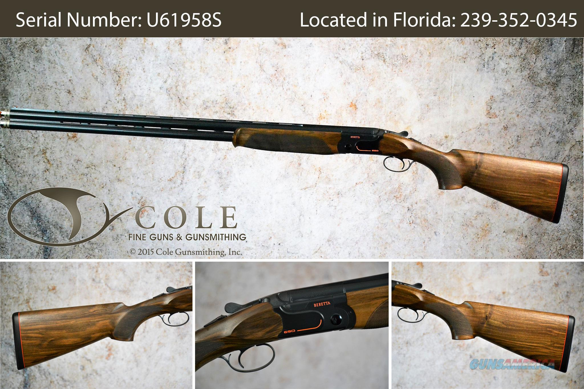 "Beretta 690 Sporting 12g 32"" SN:#U61958S  Guns > Shotguns > Beretta Shotguns > O/U > Trap/Skeet"