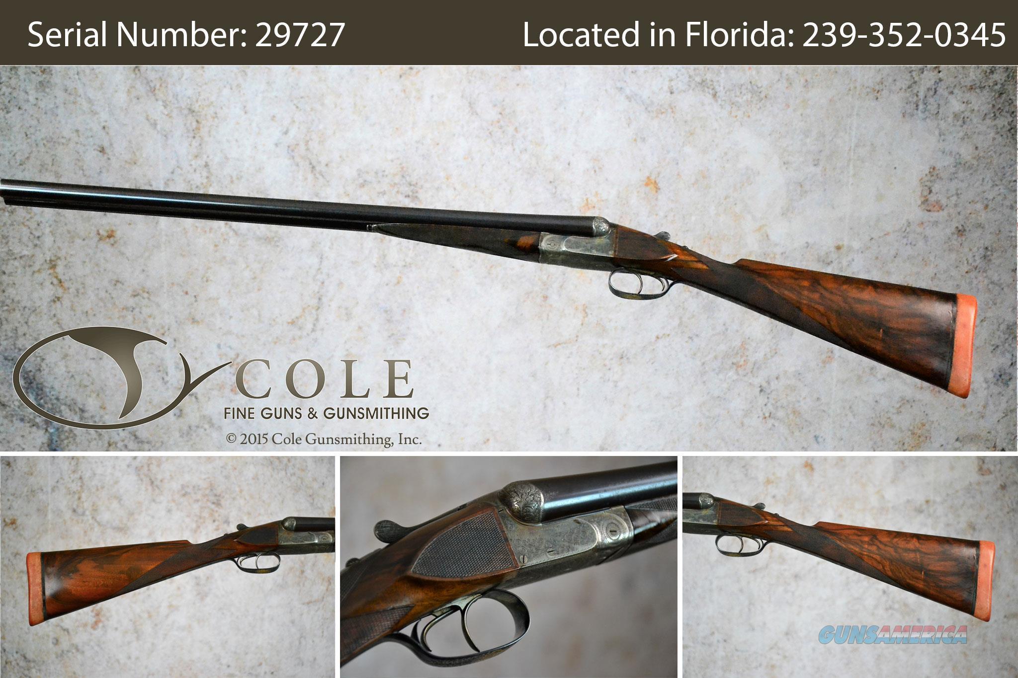 """Francotte 12ga SxS 28"""" Pre-owned SN:29727  Guns > Shotguns > Francotte Shotguns"""