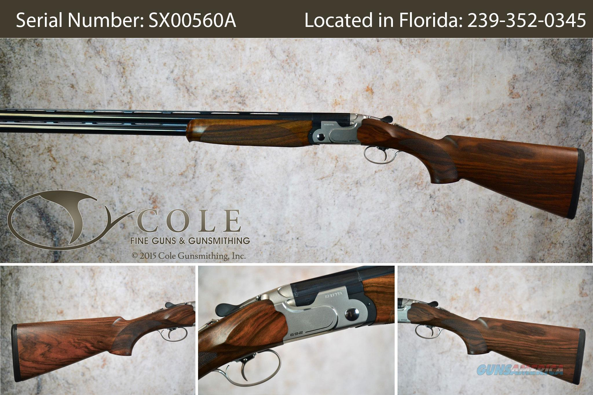 "Beretta 692 Sporting 12g 30"" SN:#SX00560A ~~Pre-Owned~~  Guns > Shotguns > Beretta Shotguns > O/U > Hunting"