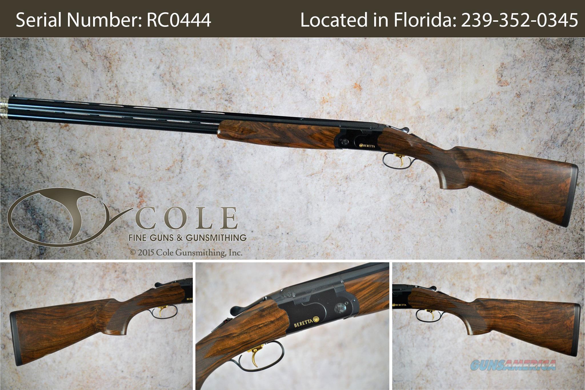 "Beretta 686 Cole Special Sporting 12g 30"" SN:#RC0444  Guns > Shotguns > Beretta Shotguns > O/U > Trap/Skeet"