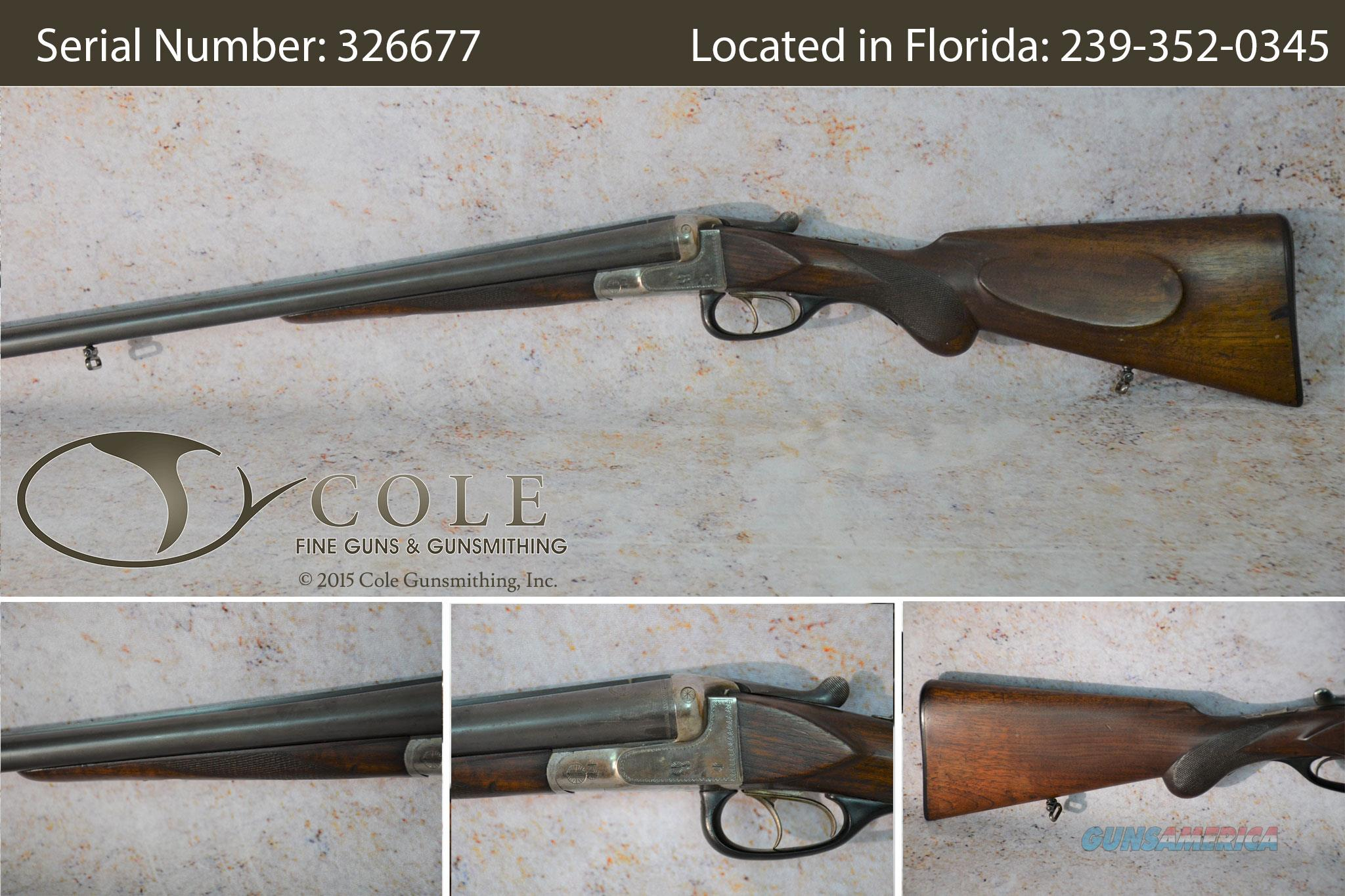 "Sauer & Sohn Ejector Model 12g 28.5"" Field Pre-Owned SN: 326677  Guns > Shotguns > S Misc Shotguns"