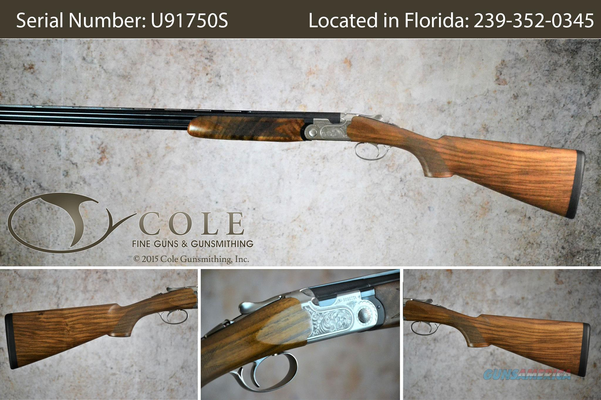"Beretta 691 Field 28g 28"" SN:U91750S  Guns > Shotguns > Beretta Shotguns > O/U > Hunting"