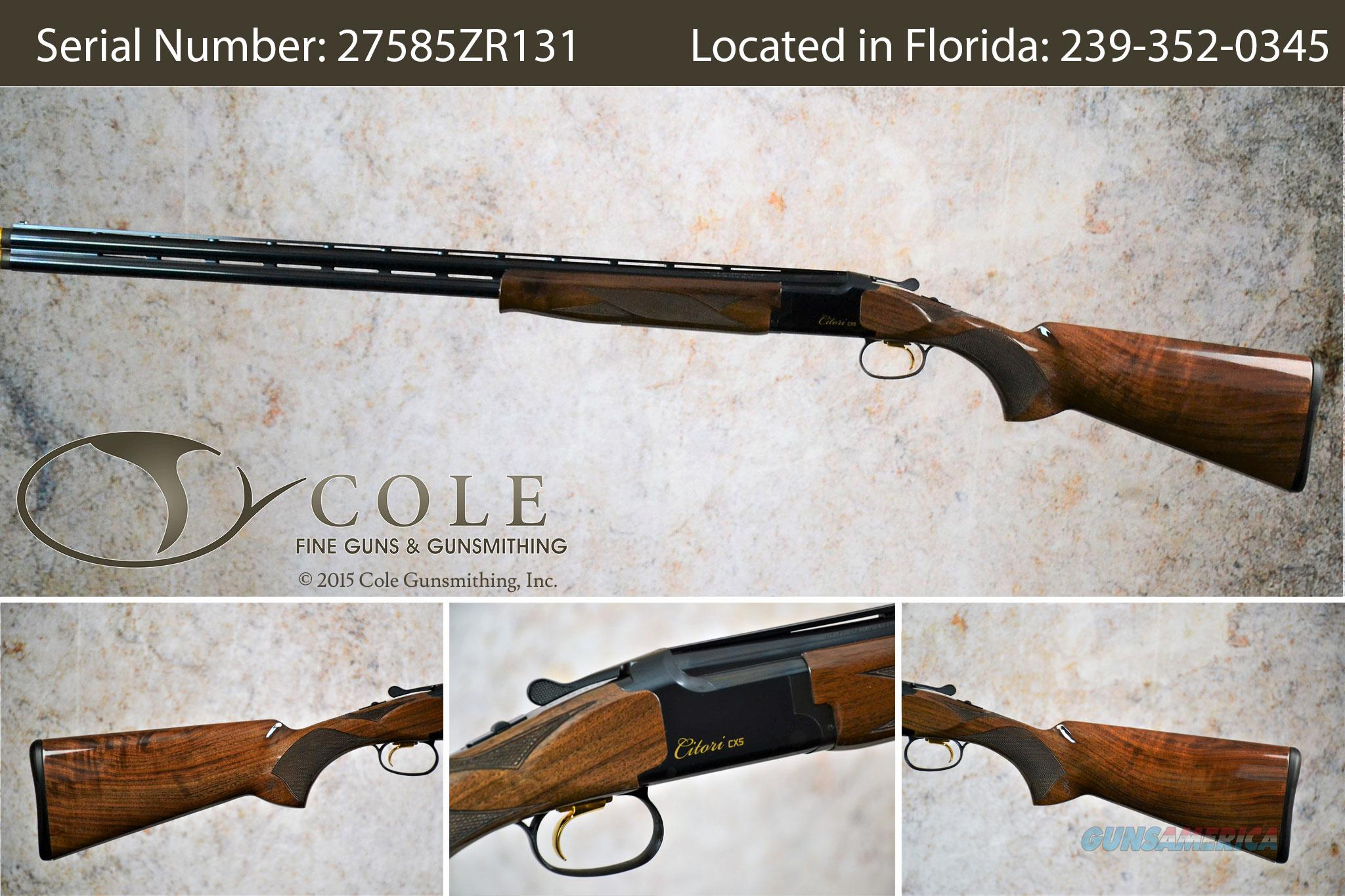 "Browning Citori CXS 20g 30"" SN:#27585ZR131~~Pre-Owned~~  Guns > Shotguns > Browning Shotguns > Over Unders > Citori > Hunting"