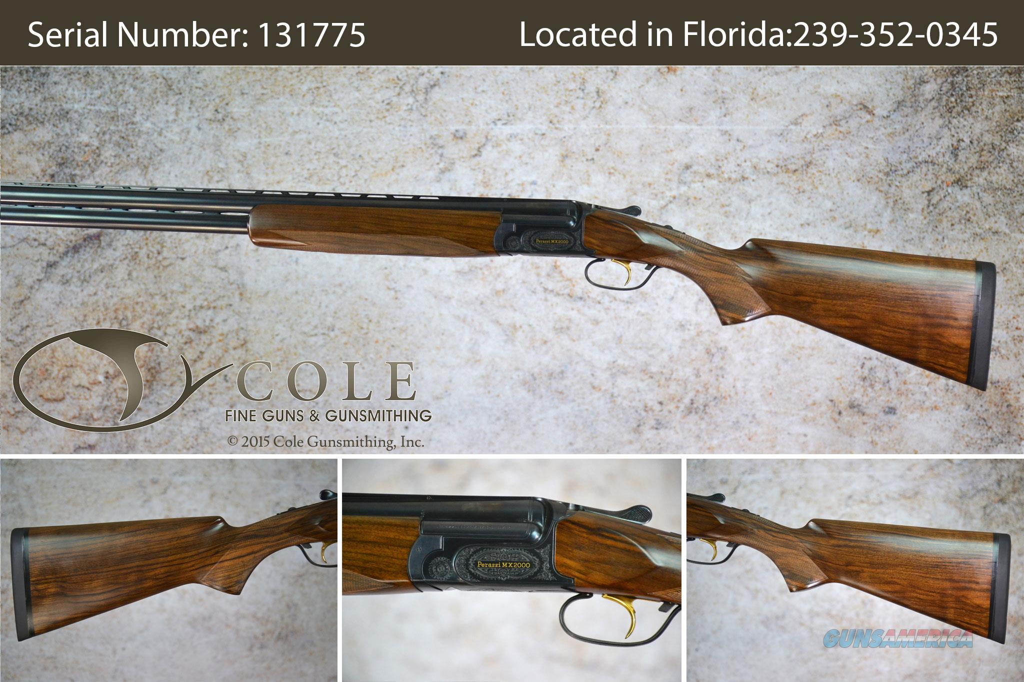 "Perazzi  12g 30 3/4"" MX2000/8 New Sporting/Field Shotgun SN: 131775 ~ Call for price!  Guns > Shotguns > Perazzi Shotguns"
