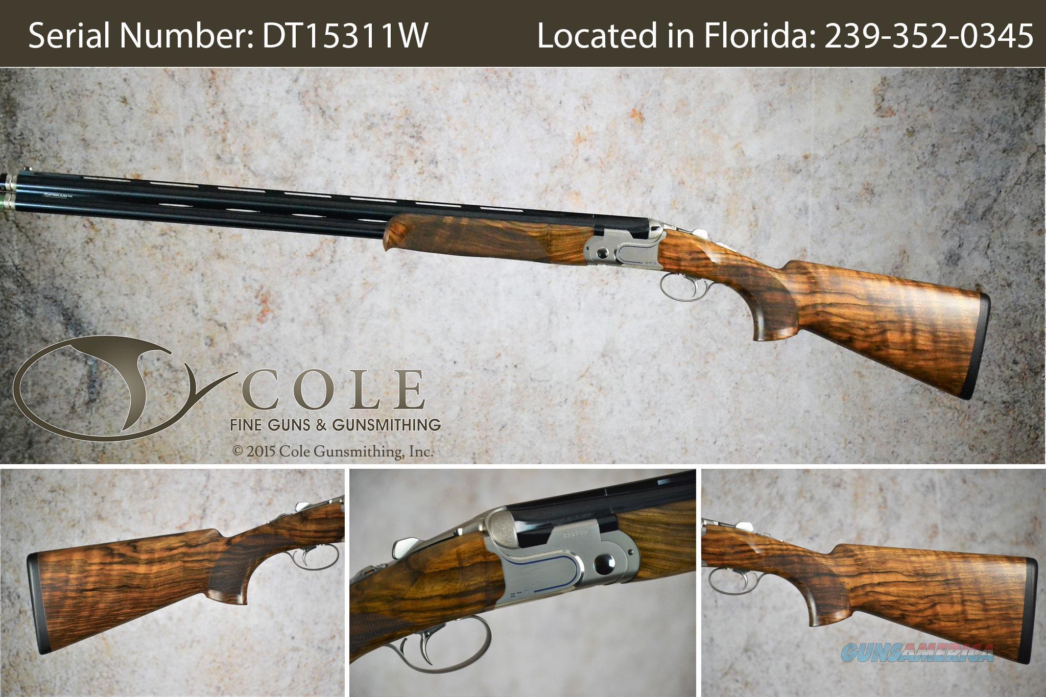 "Beretta DT11 Sporting 12g 30"" SN:#DT15311W~~In Our Sarasota Store~~  Guns > Shotguns > Beretta Shotguns > O/U > Trap/Skeet"