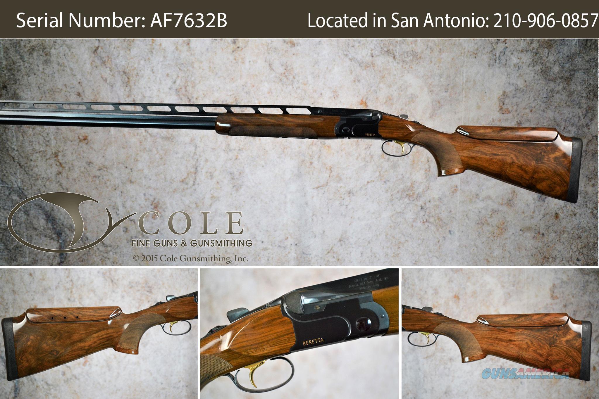 """Beretta  DT10 Trap 12g 34"""" SN:#AF7632B ~~YIII-Gun~~~At Our San Antonio Store~~  Guns > Shotguns > Beretta Shotguns > O/U > Trap/Skeet"""