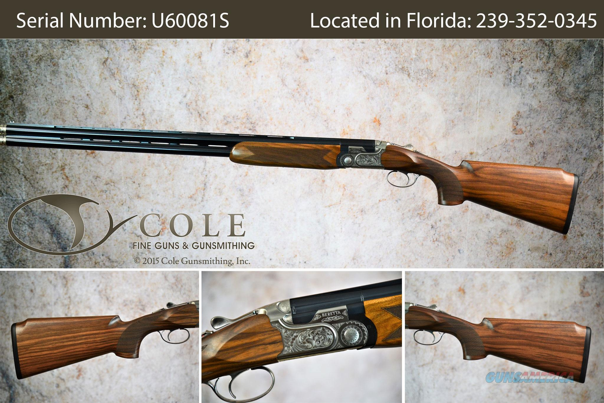"""Beretta 690 Sporting I Vittoria 12g 30"""" SN:#U60081S   Guns > Shotguns > Beretta Shotguns > O/U > Trap/Skeet"""