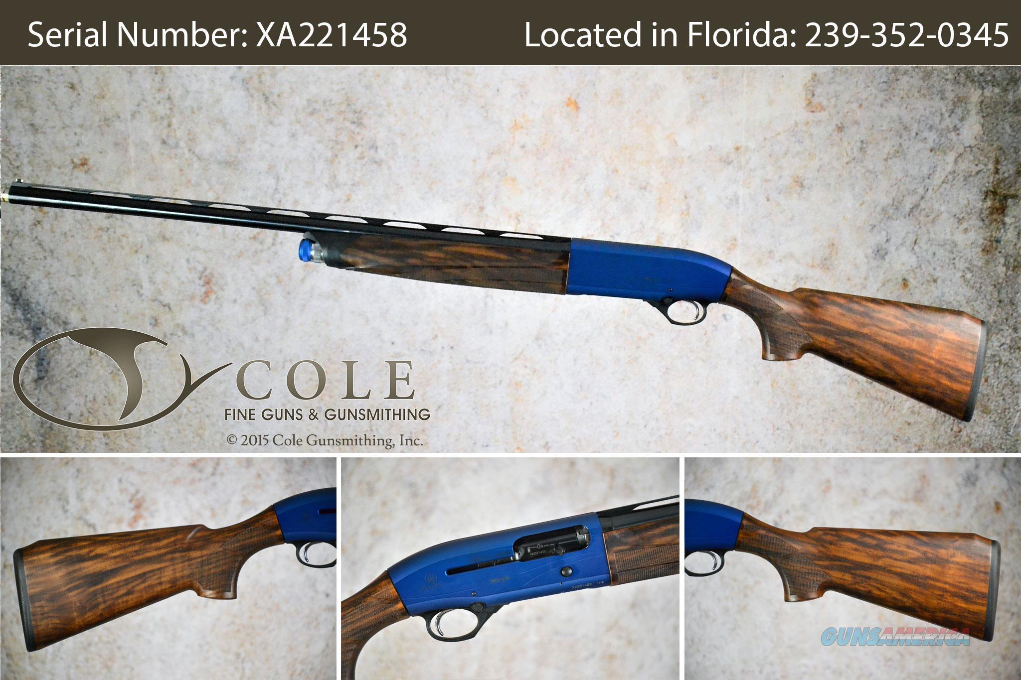 "Beretta A400 Vittoria Sporting 12g 28"" SN:#XA221458~~Pre-Owned~~  Guns > Shotguns > Beretta Shotguns > Single Barrel"
