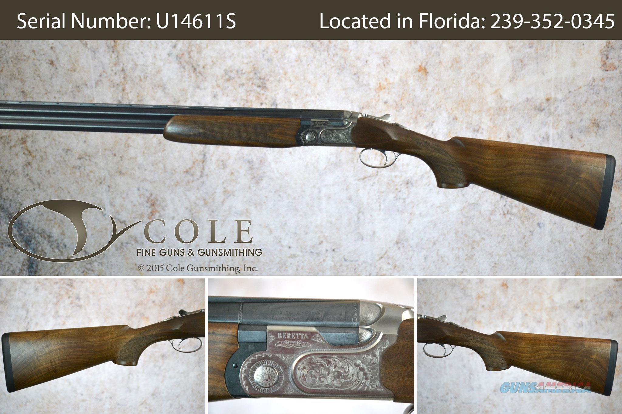 "Beretta 690 Field 12ga 28"" SN:U14611S  Guns > Shotguns > Beretta Shotguns > O/U > Hunting"