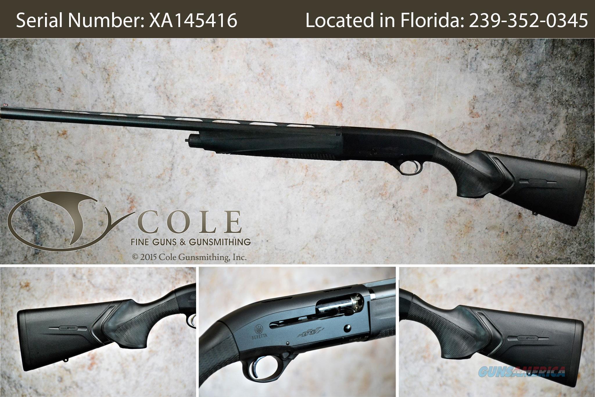 "Beretta A400 Field 12g 28"" SN:#XA145416~~DEMO~~  Guns > Shotguns > Beretta Shotguns > Single Barrel"