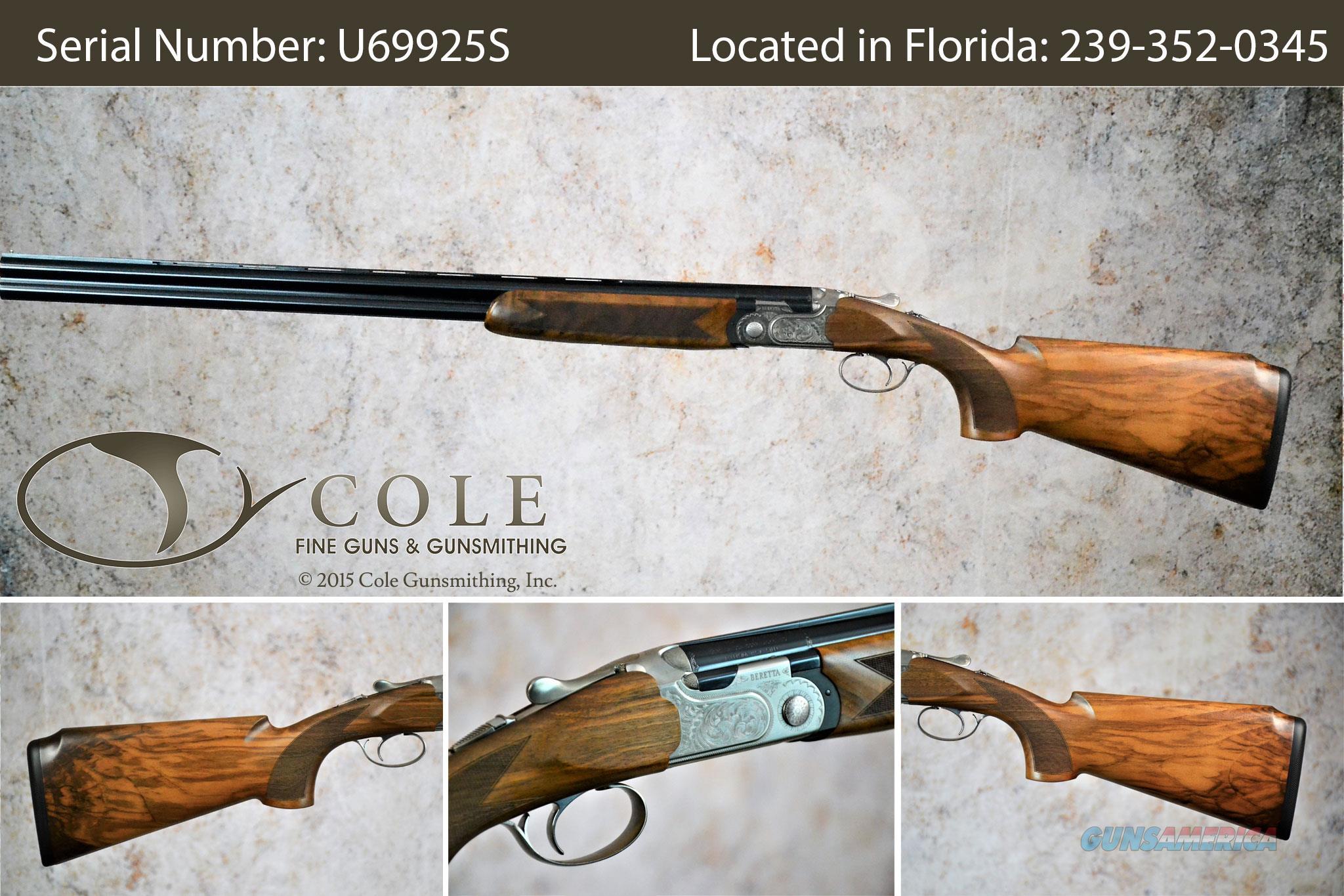 "Beretta 691 Vittoria Field 20g 28"" SN:#U72096S  Guns > Shotguns > Beretta Shotguns > O/U > Hunting"