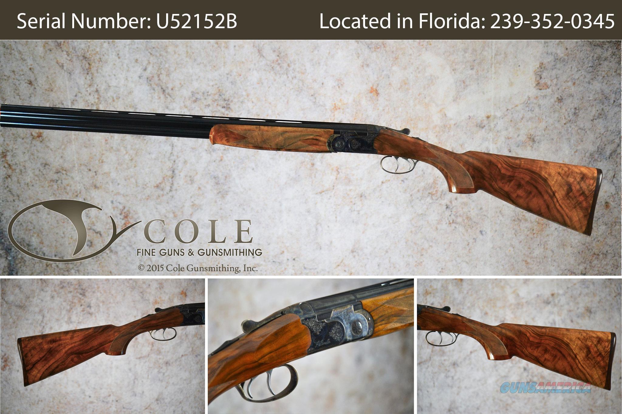 "Beretta Cole Custom Field 20g 28"" SN:#U52152B~~Pre-Owned~~  Guns > Shotguns > Beretta Shotguns > O/U > Hunting"